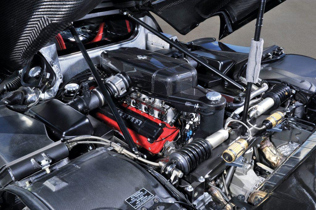 2004 Ferrari Enzo engine
