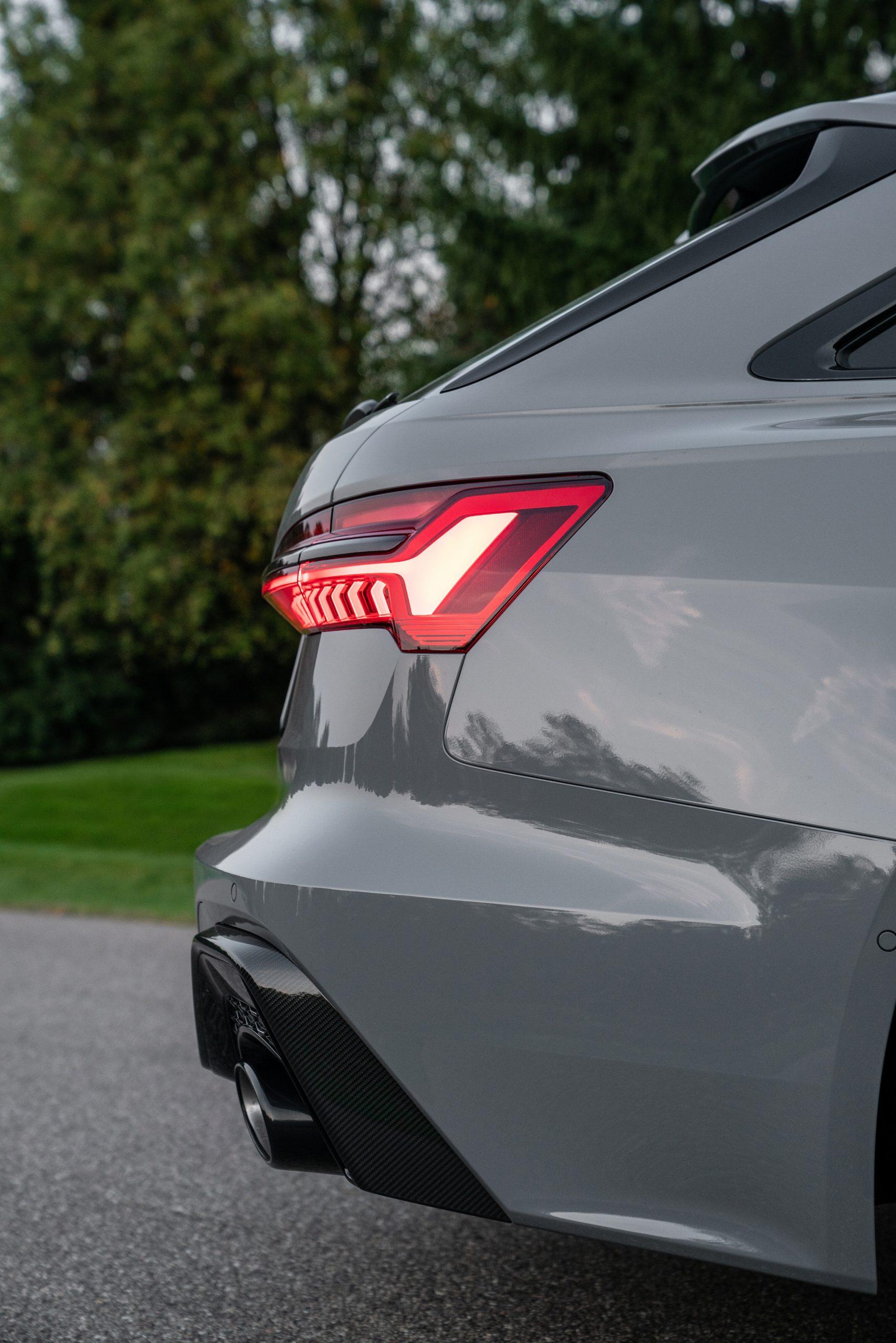 RS 6 Avant Nardo Gray rear fascia