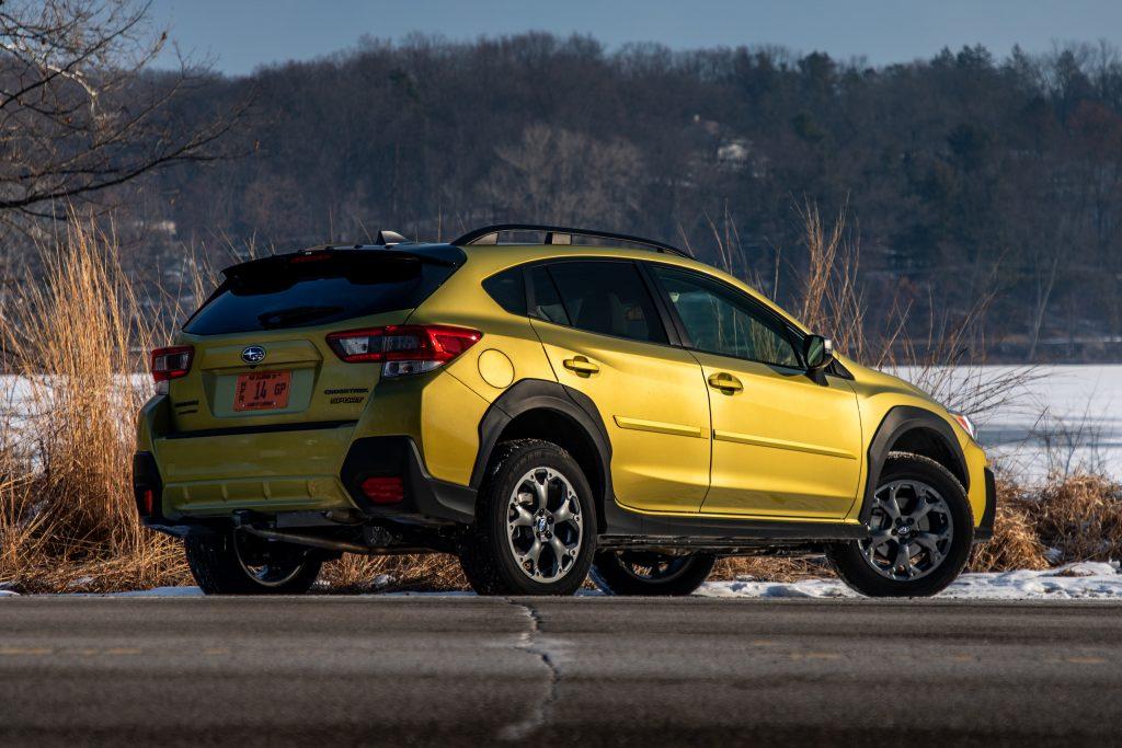 Subaru Crosstrek Sport rear three-quarter