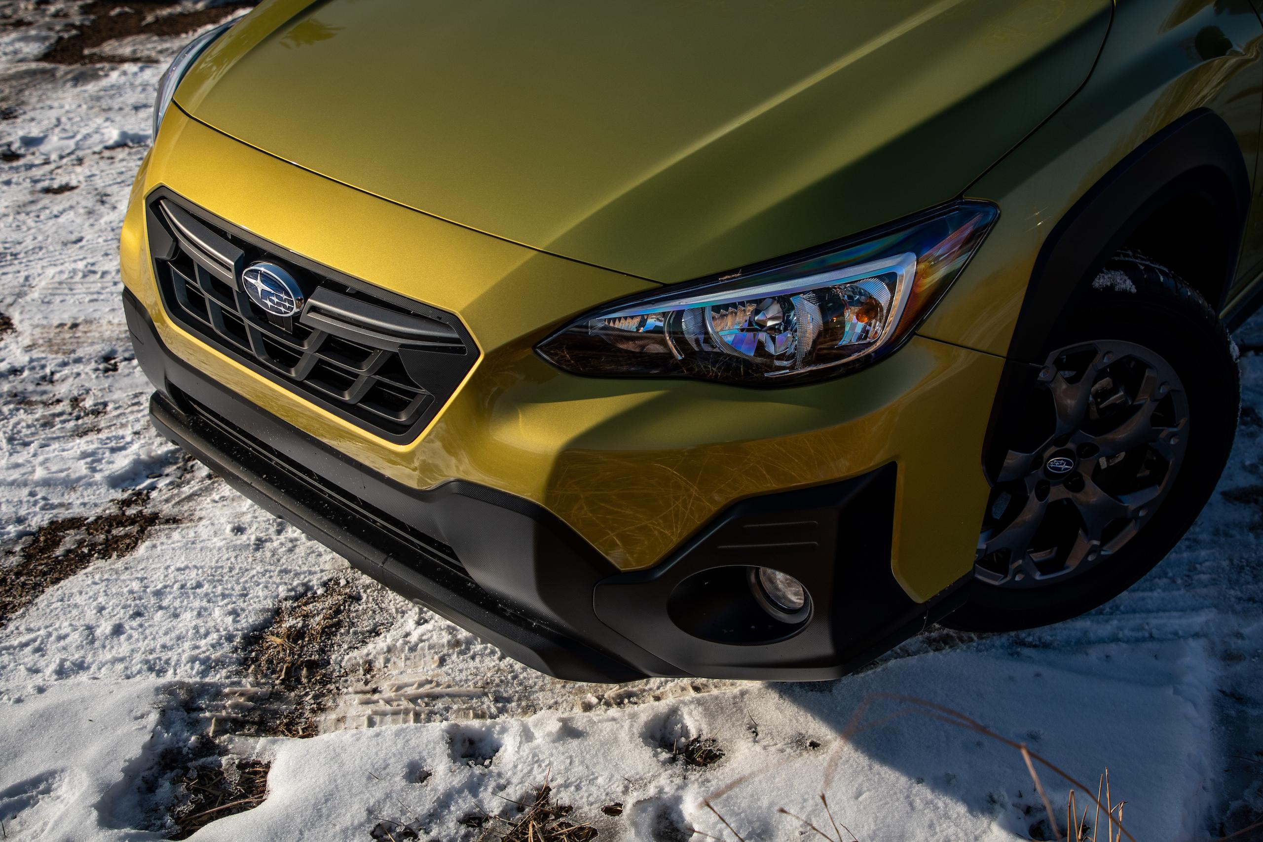 Subaru Crosstrek Sport front fascia