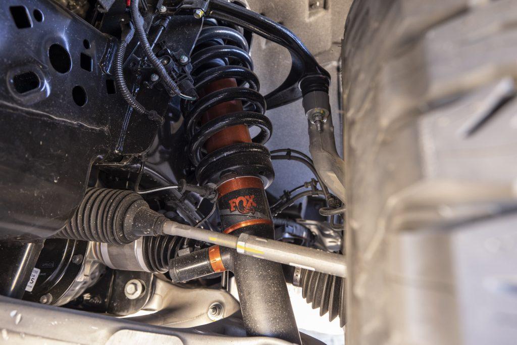 2021 Ford F-150 Raptor front suspension