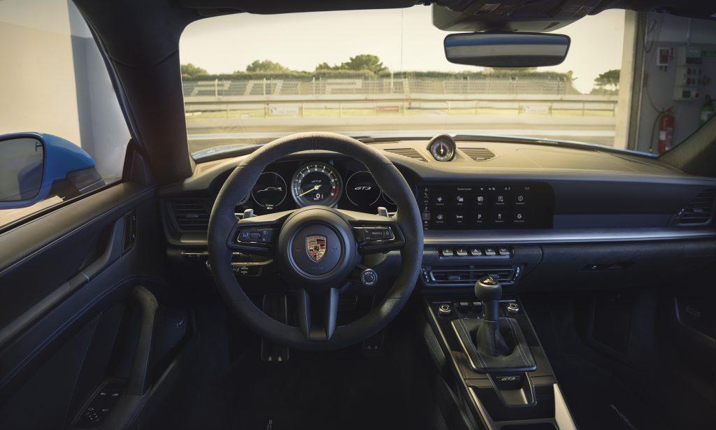 2022 Porsche 911 GT3 interior wheel