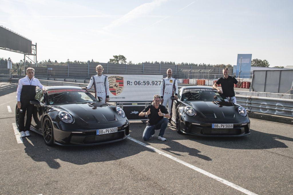 2022 Porsche 911 GT3 Nürburgring record result