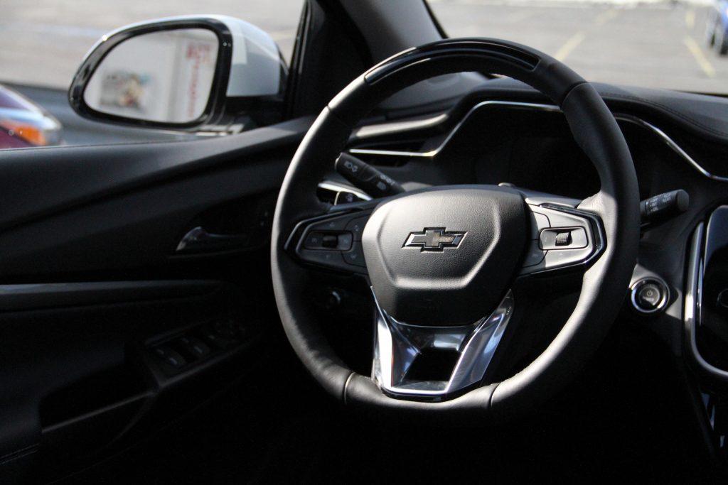 2022 Bolt EUV interior wheel front