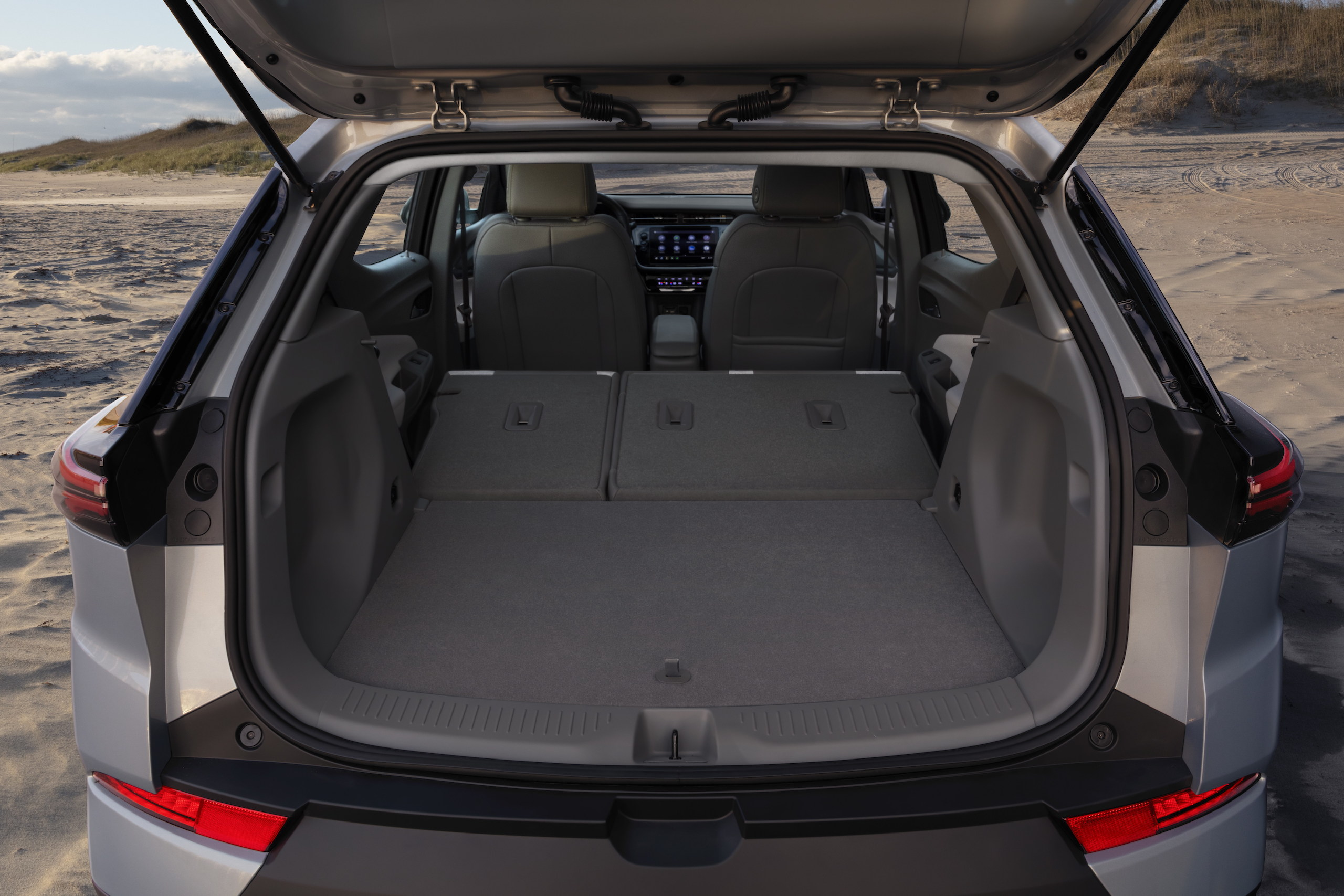2022 Chevrolet Bolt EUV rear cargo capacity seats folded