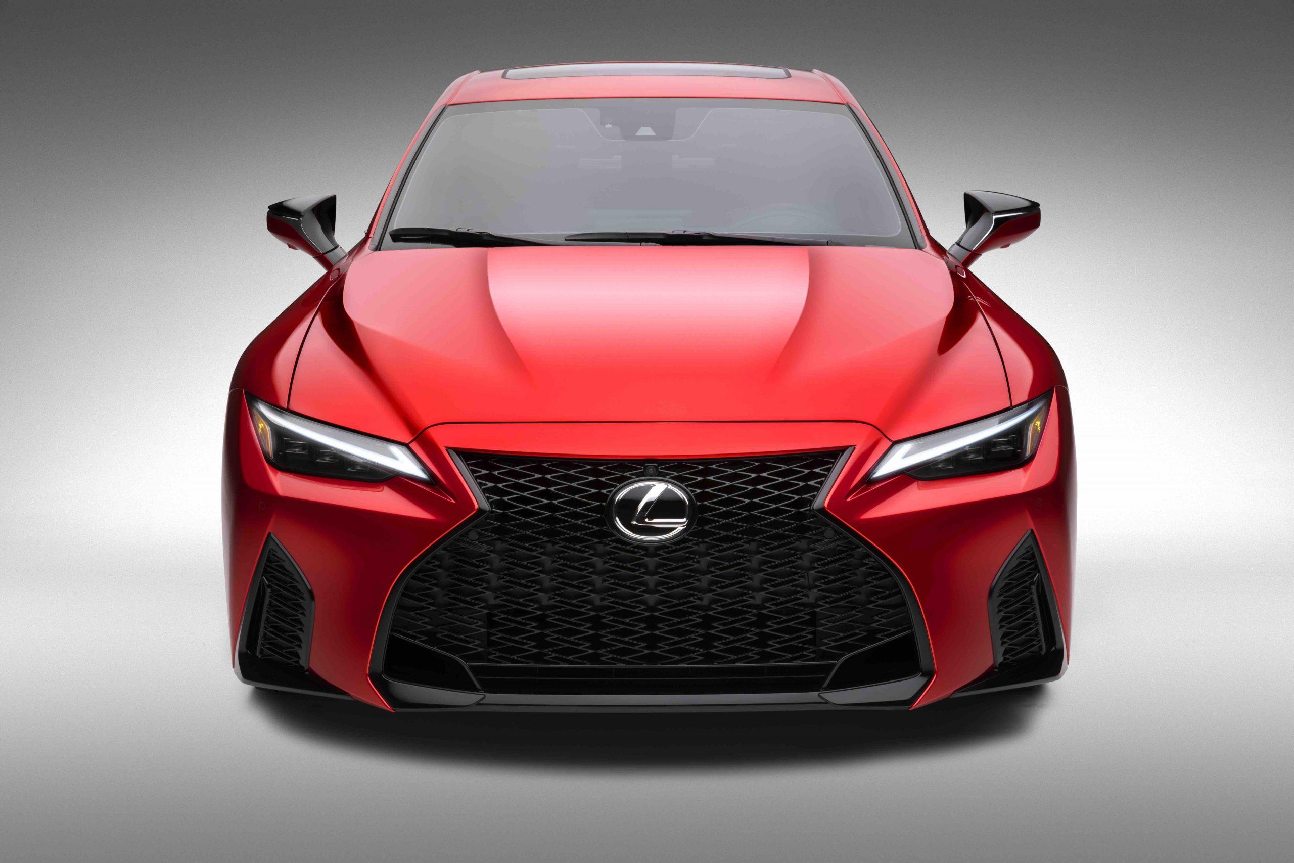 2022 Lexus IS 500 F Sport front