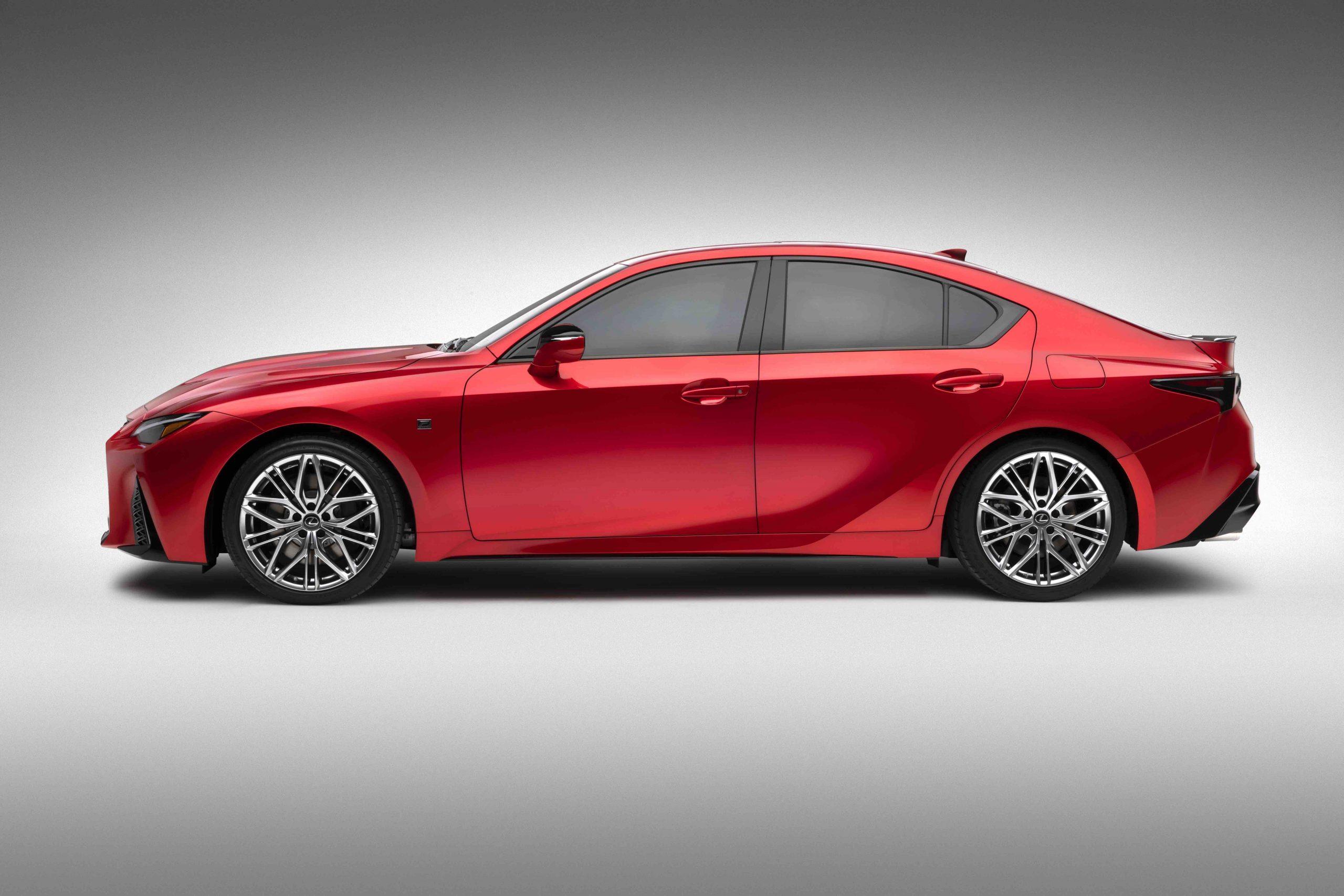 2022 Lexus IS 500 F Sport profile