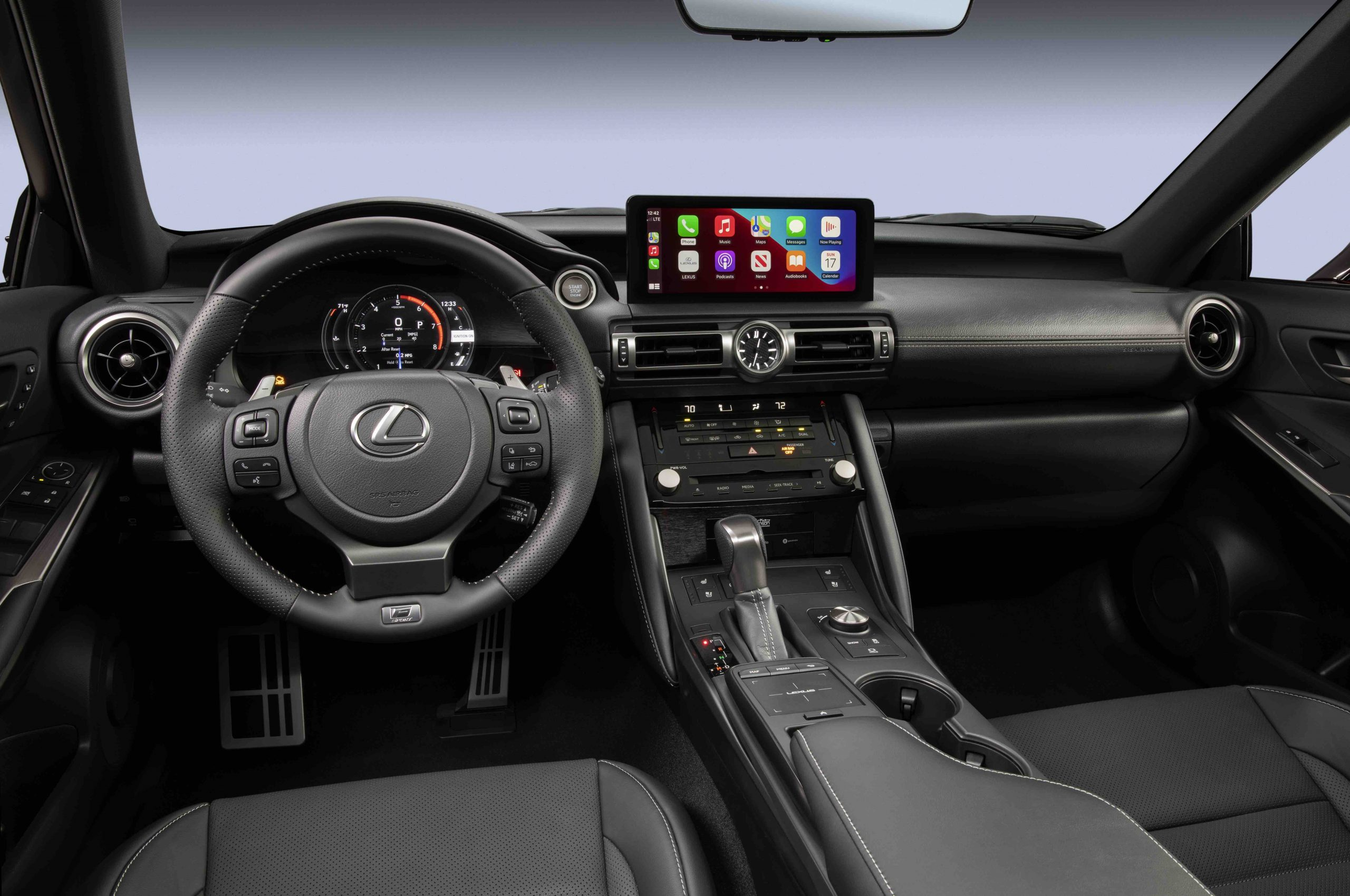 2022 Lexus IS 500 F Sport interior