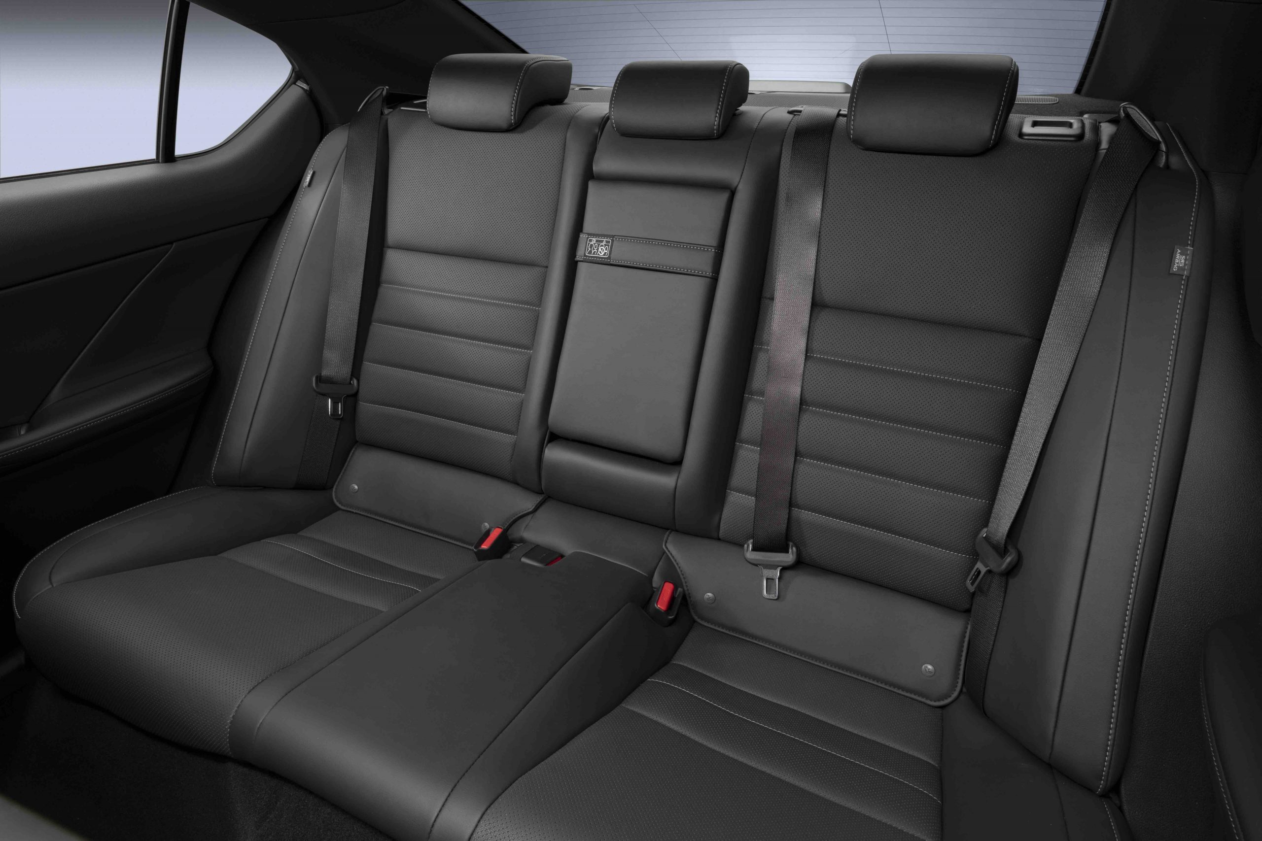 2022 Lexus IS 500 F Sport rear seats