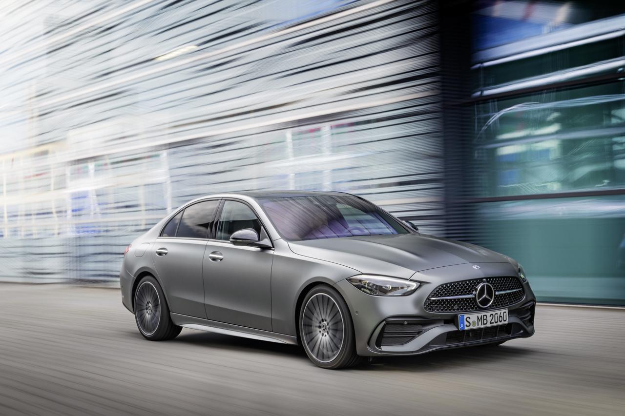 2021 Mercedes-Benz C-Class action front