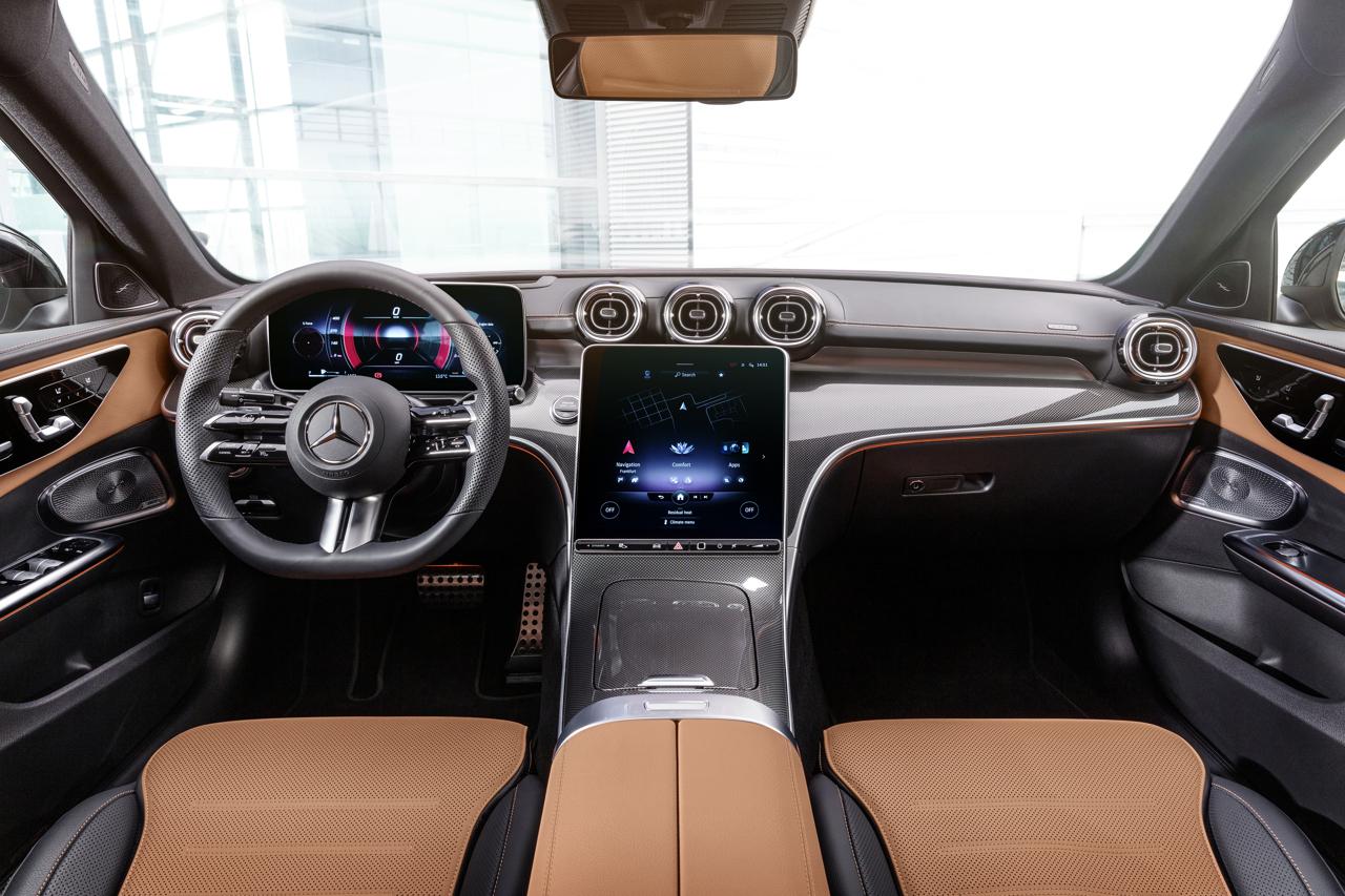 2021 Mercedes-Benz C-Class interior 2