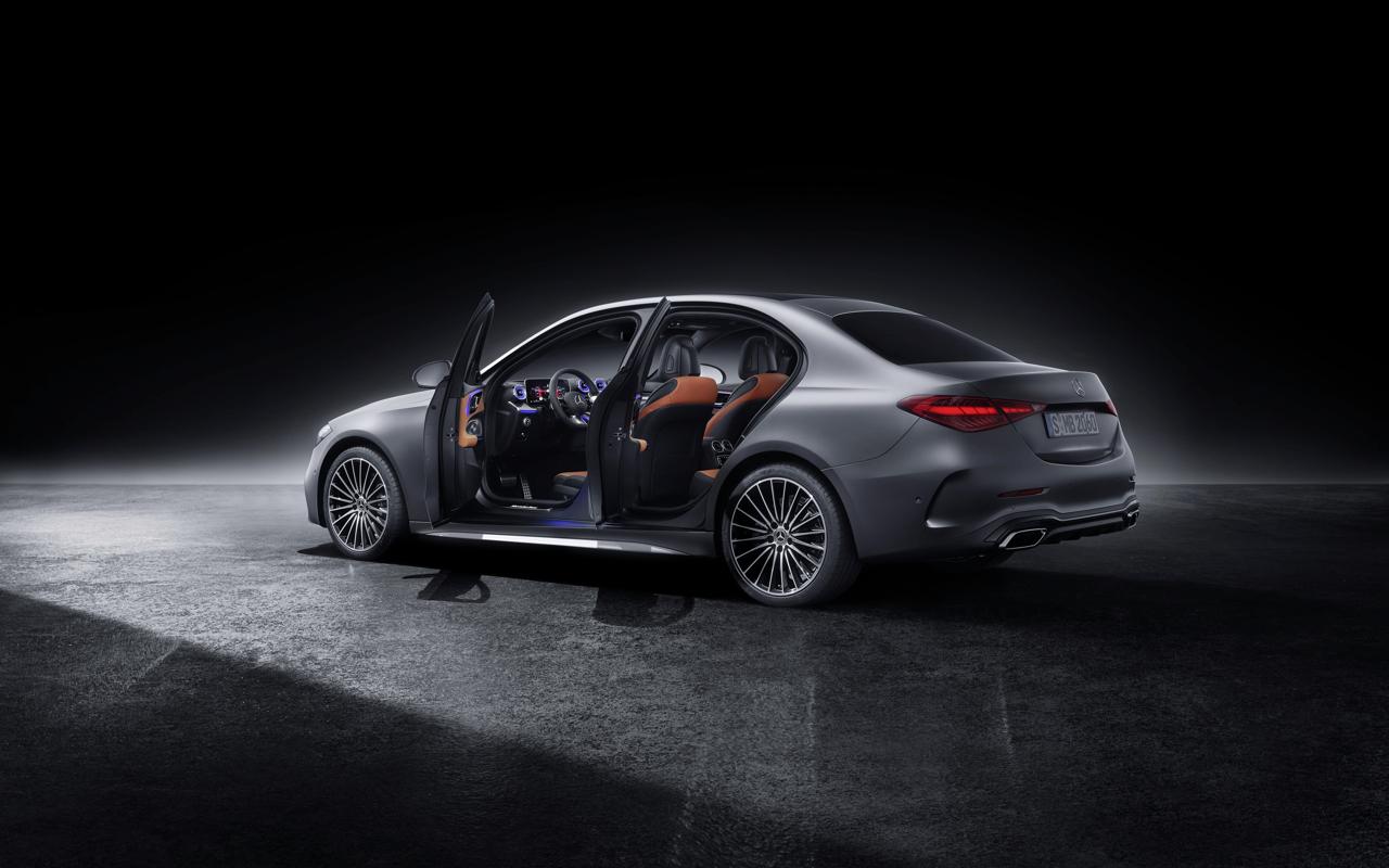 2021 Mercedes-Benz C-Class studio 4