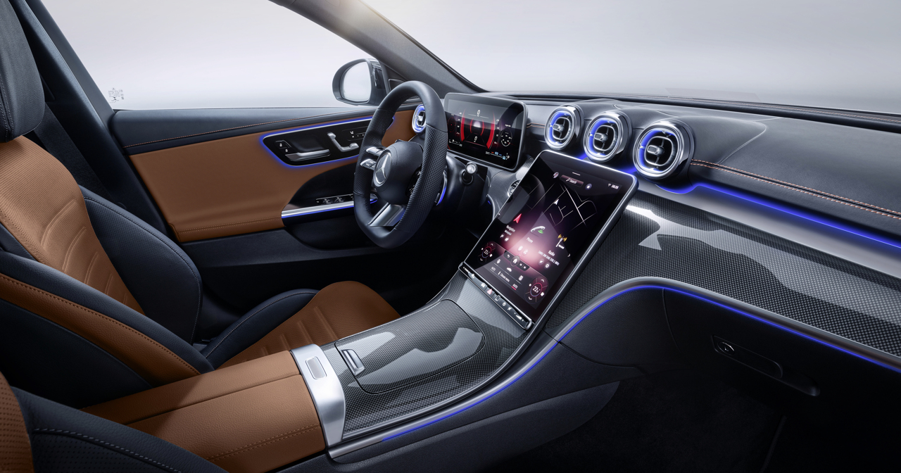 2021 Mercedes-Benz C-Class studio 10