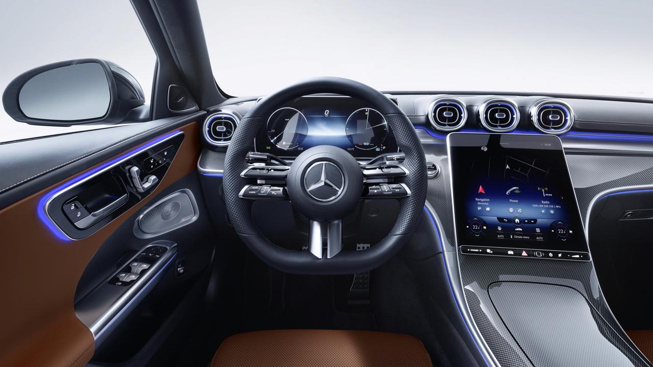 2021 Mercedes-Benz C-Class studio 12