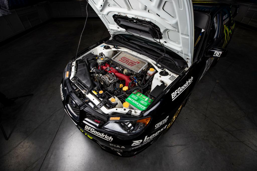 Ken Block WRX STI for sale engine
