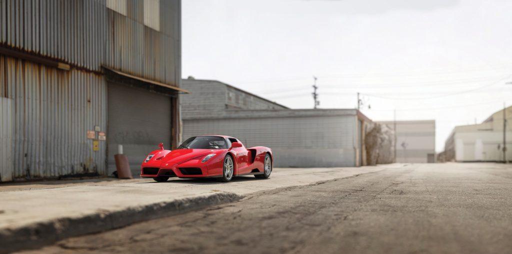 400th Enzo Ferrari Gift to Pope front three-quarter