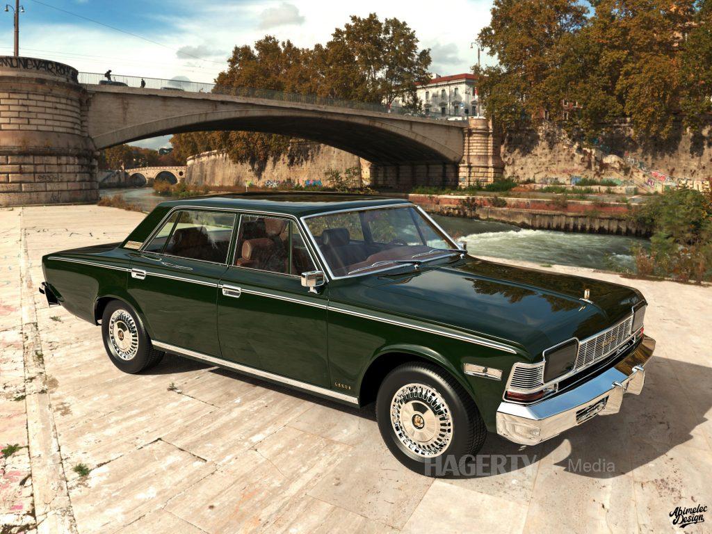What If 1973 Lexus LS400 front three-quarter