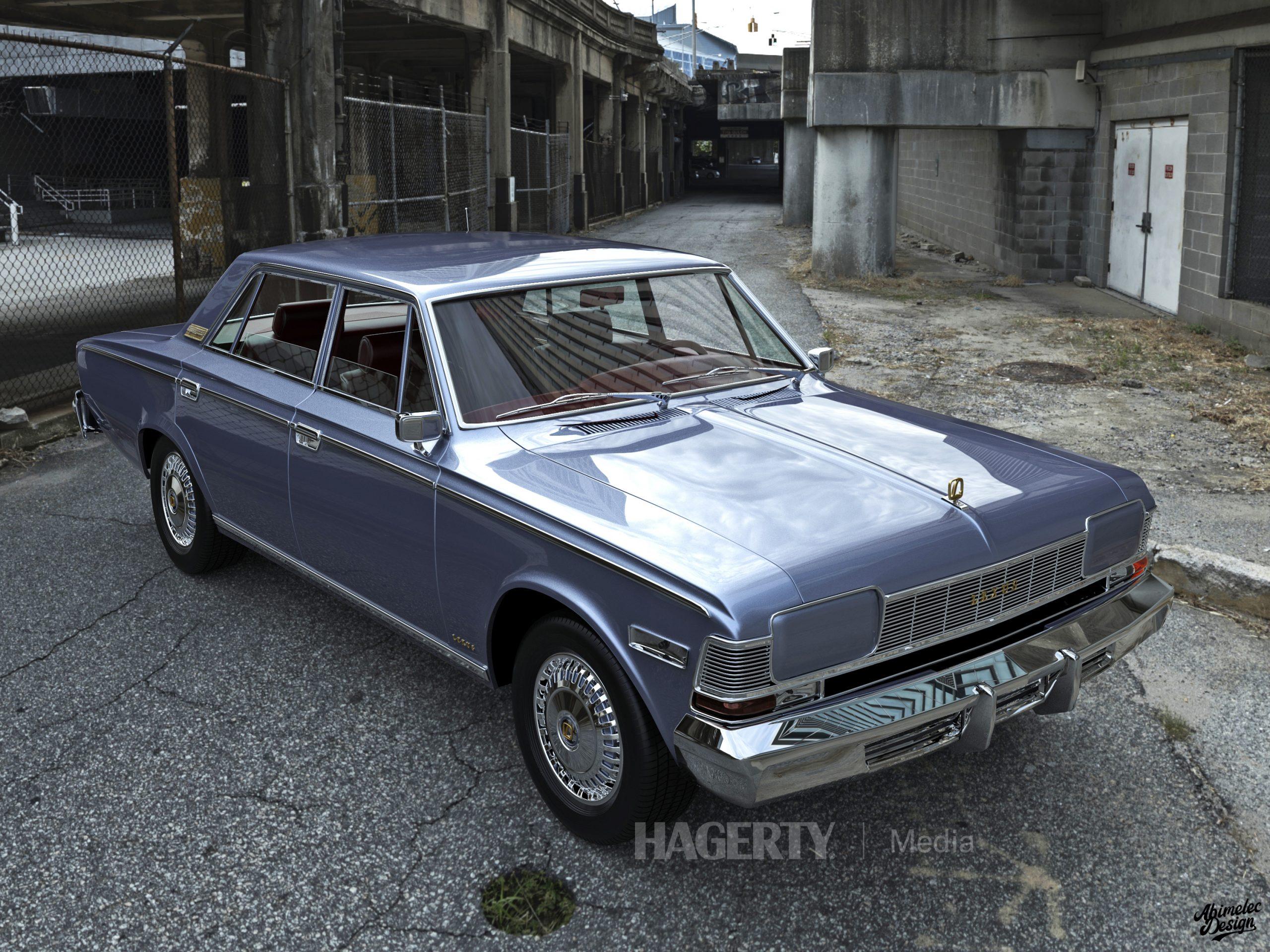 What If 1973 Lexus LS400 violet