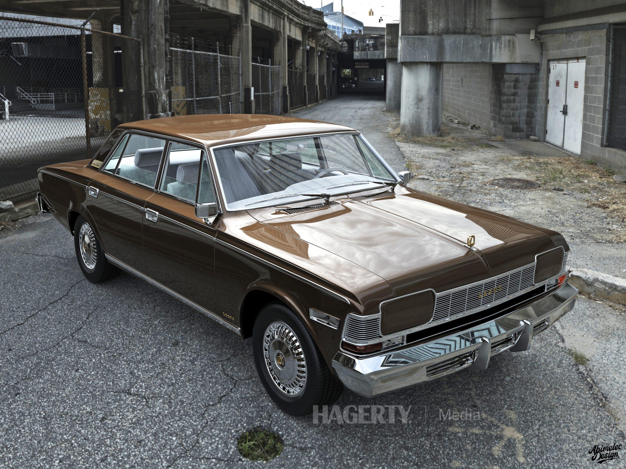 What If 1973 Lexus LS400 gold