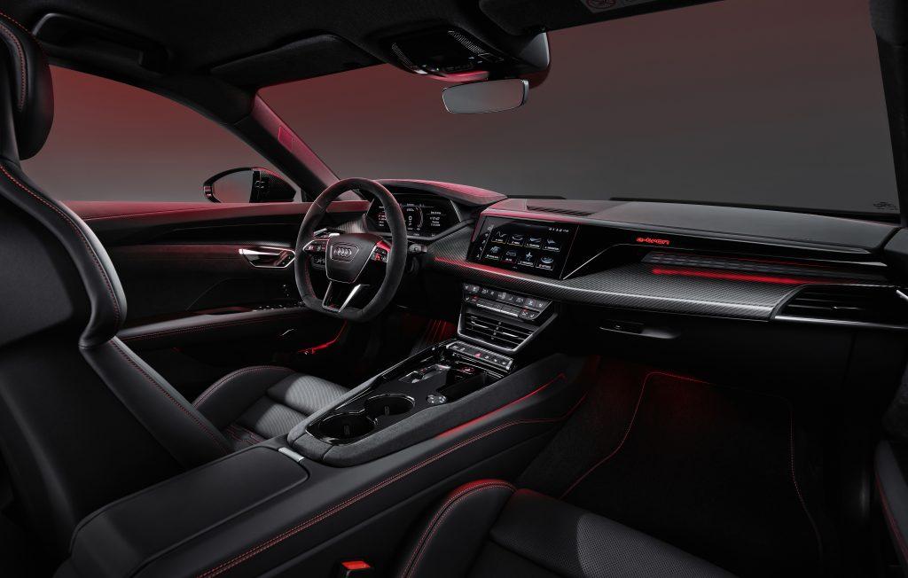 2022 Audi e-tron GT interior