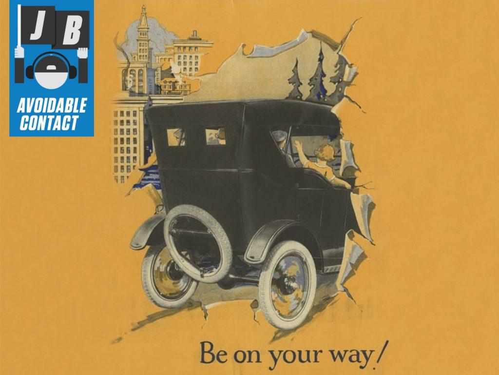 1924 Ford Model T Illustration Art Messaging