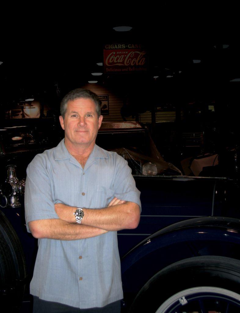Bob Mosier in his restoration shop profile