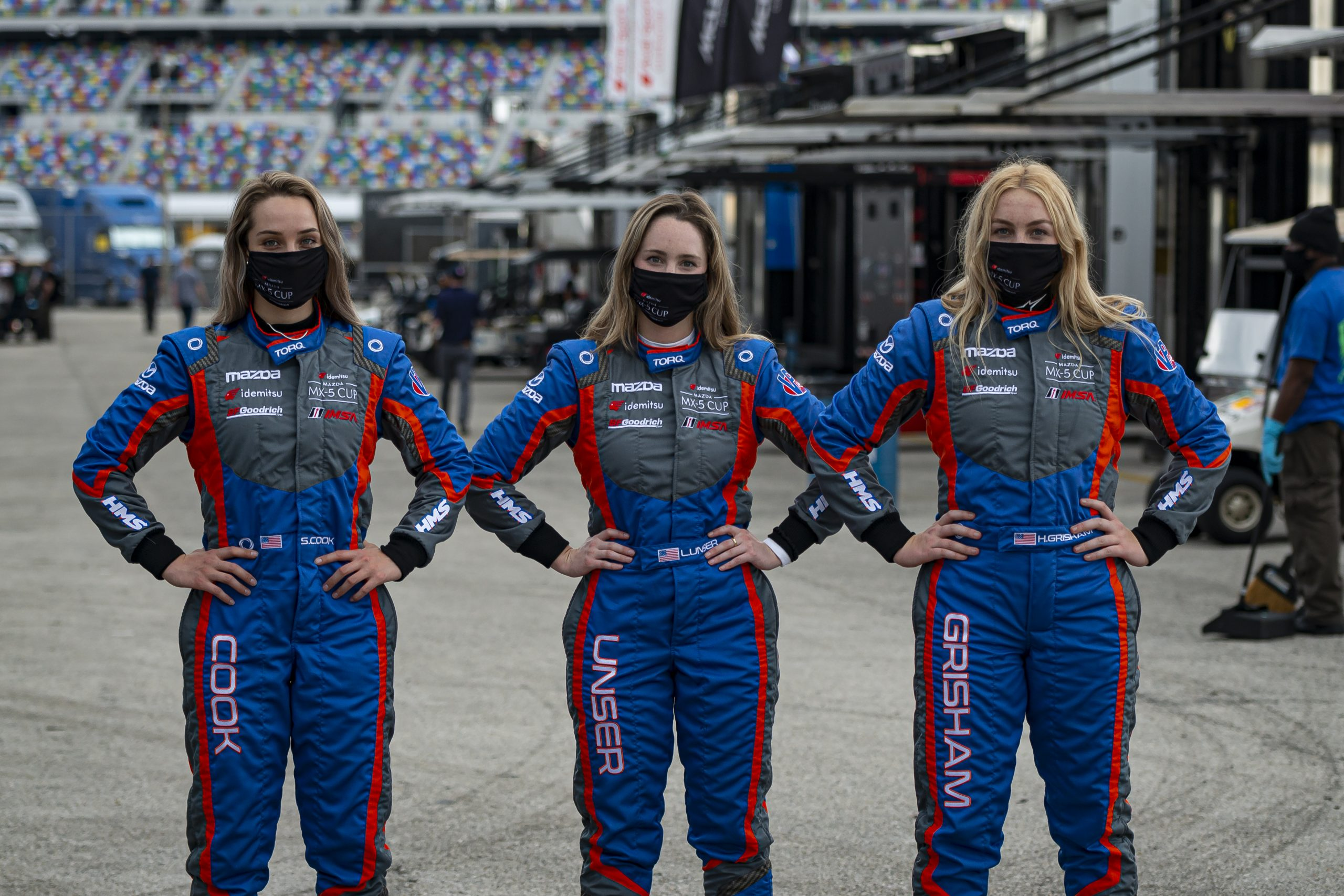 Race Drivers in Pit Lane