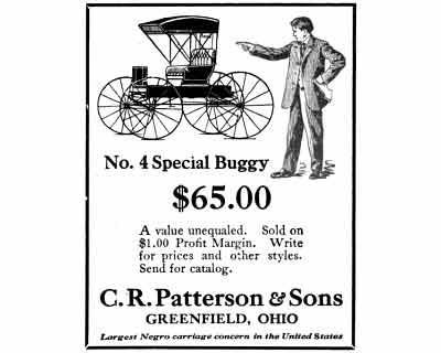 Patterson Buggy Ad
