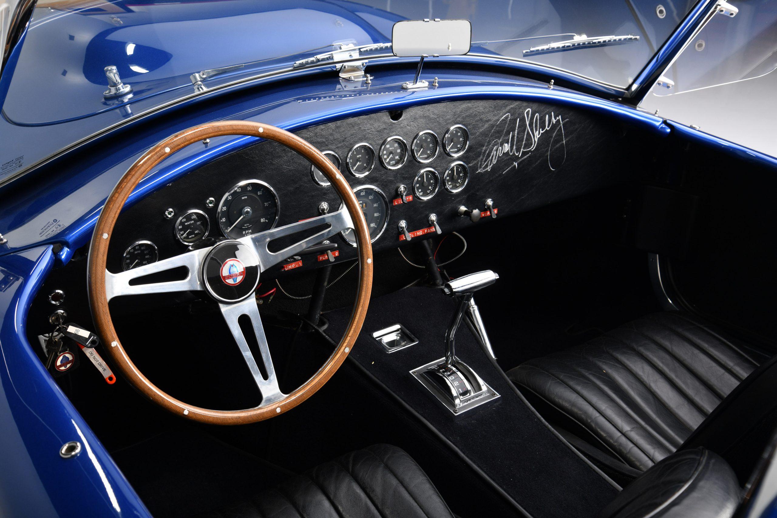 CSX 3015 Shelby Cobra interior