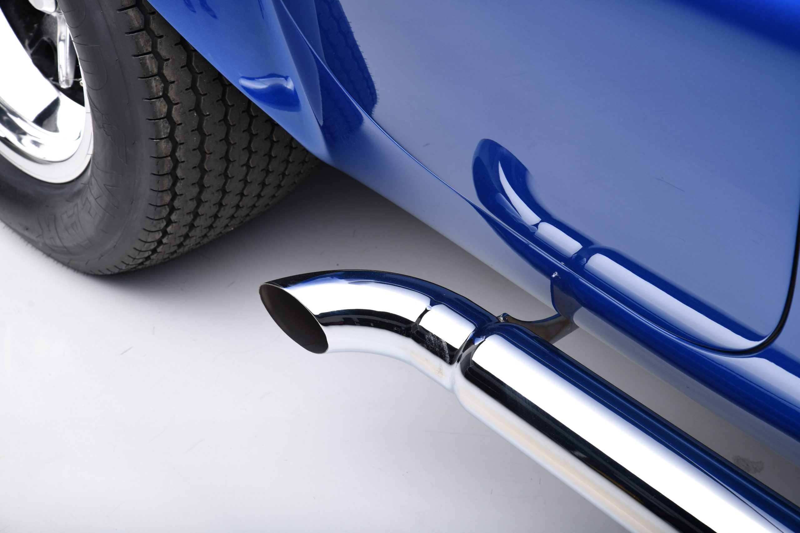 CSX 3015 Shelby Cobra side pipe detail