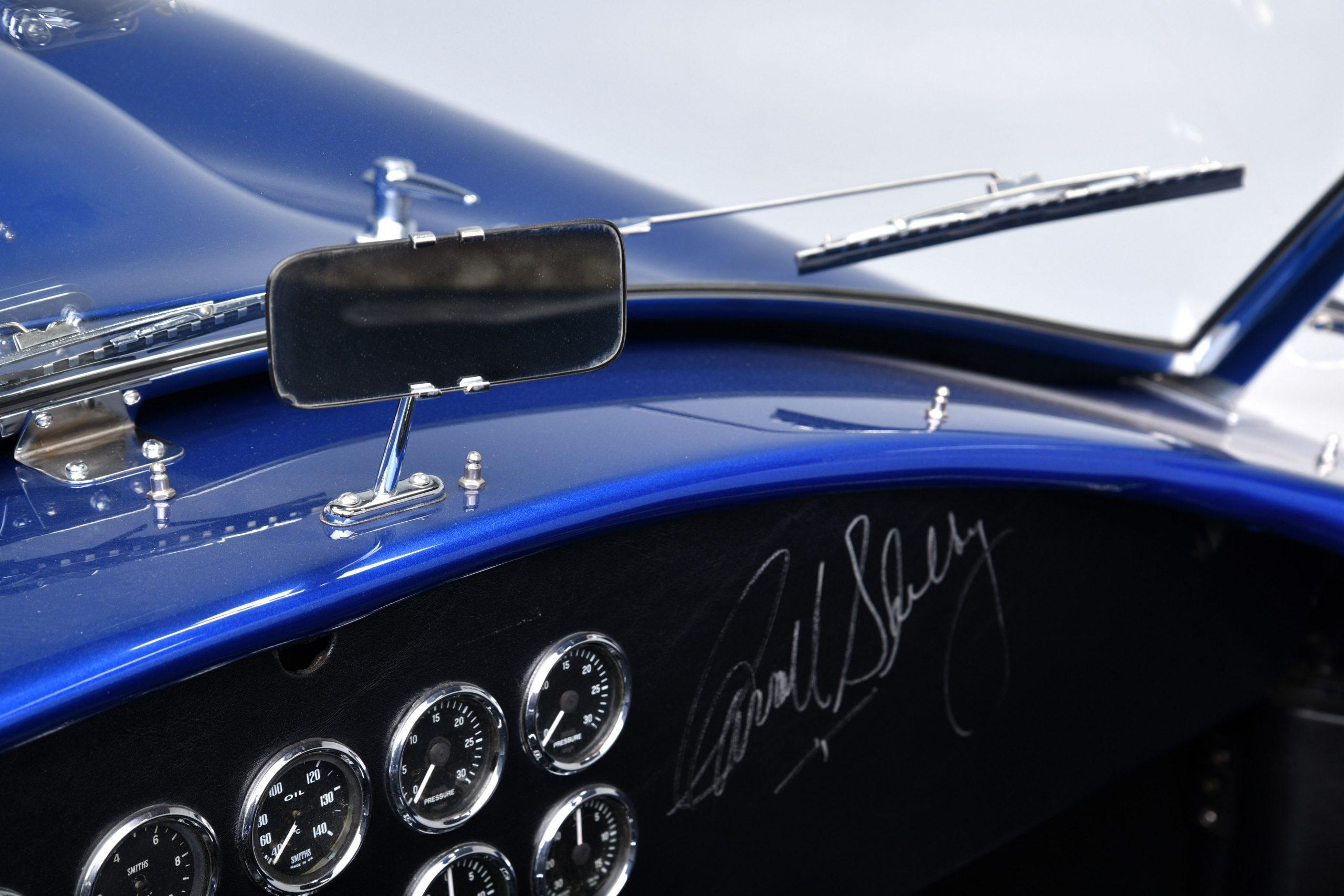 CSX 3015 Shelby Cobra interior rear view mirror