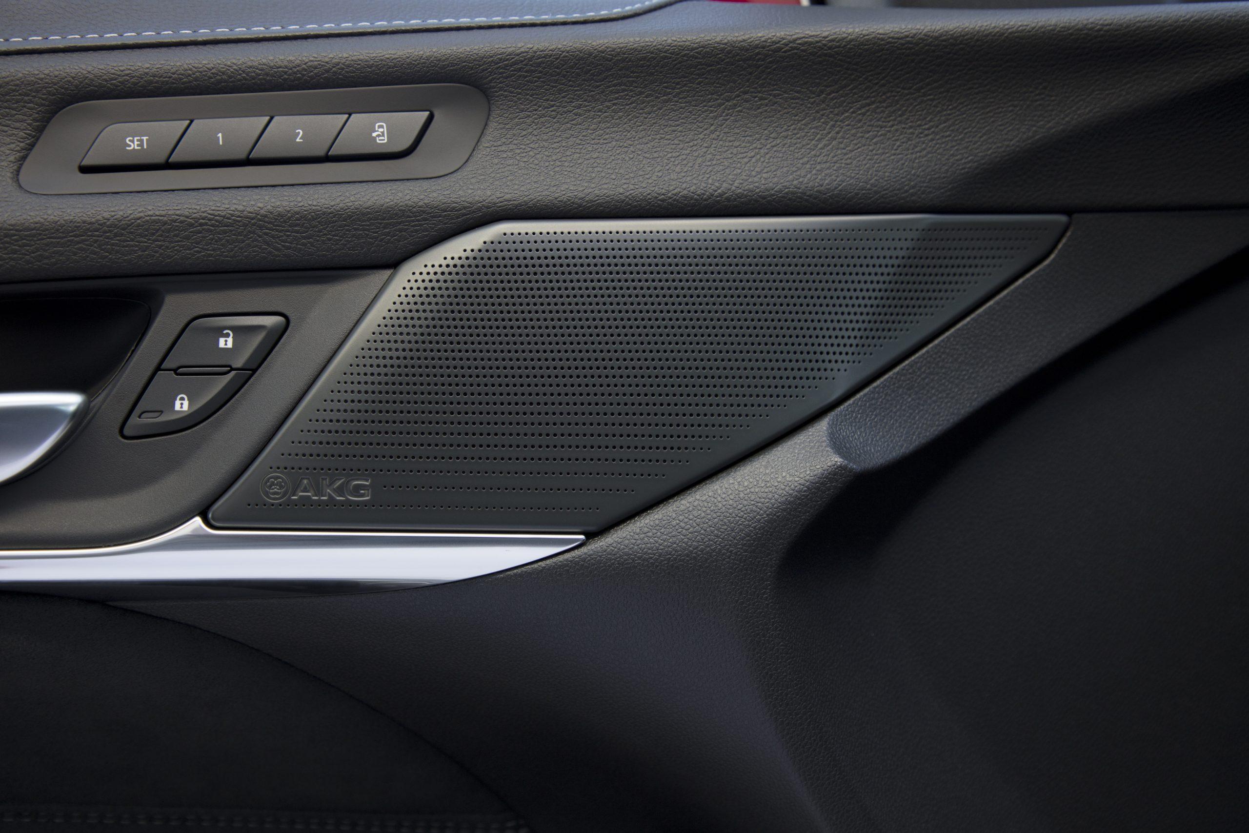 2022 Cadillac CT4-V Blackwing AKG Audio