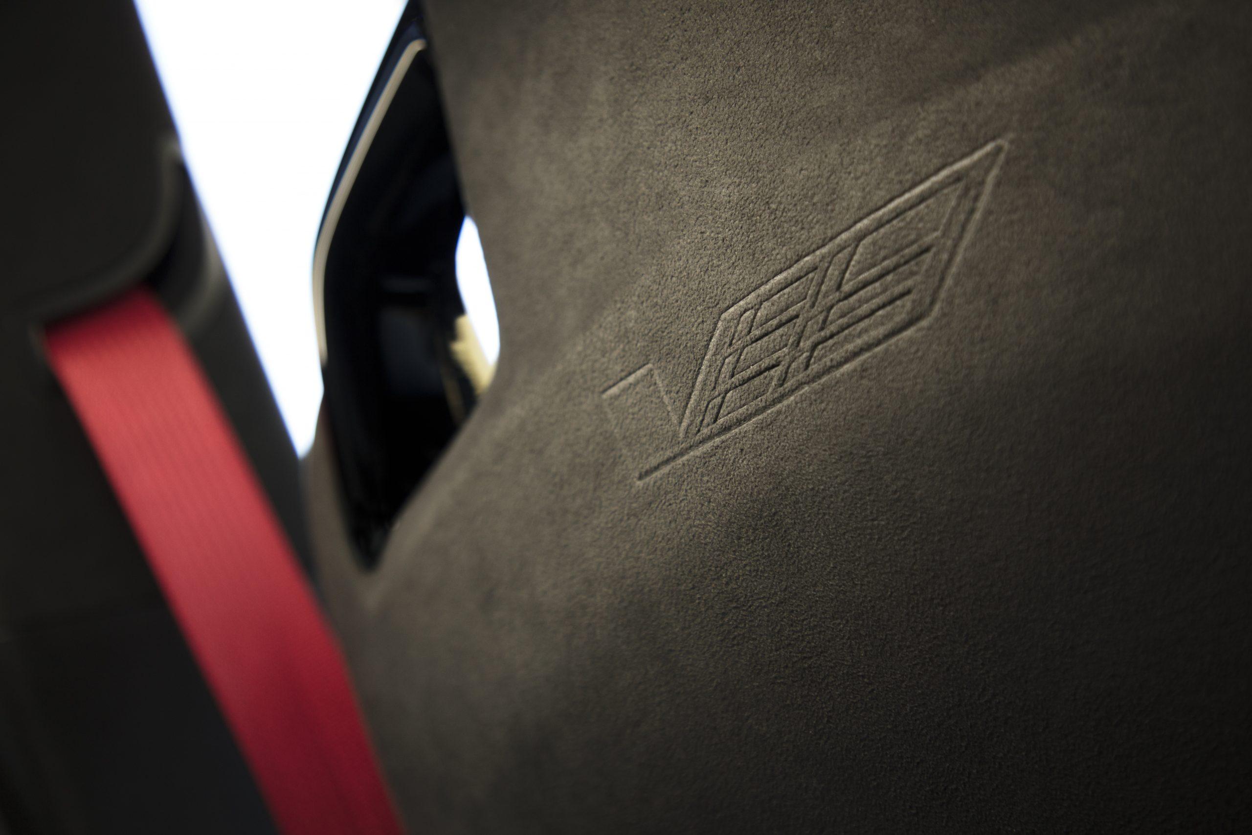 2022 Cadillac CT4-V Blackwing seat back