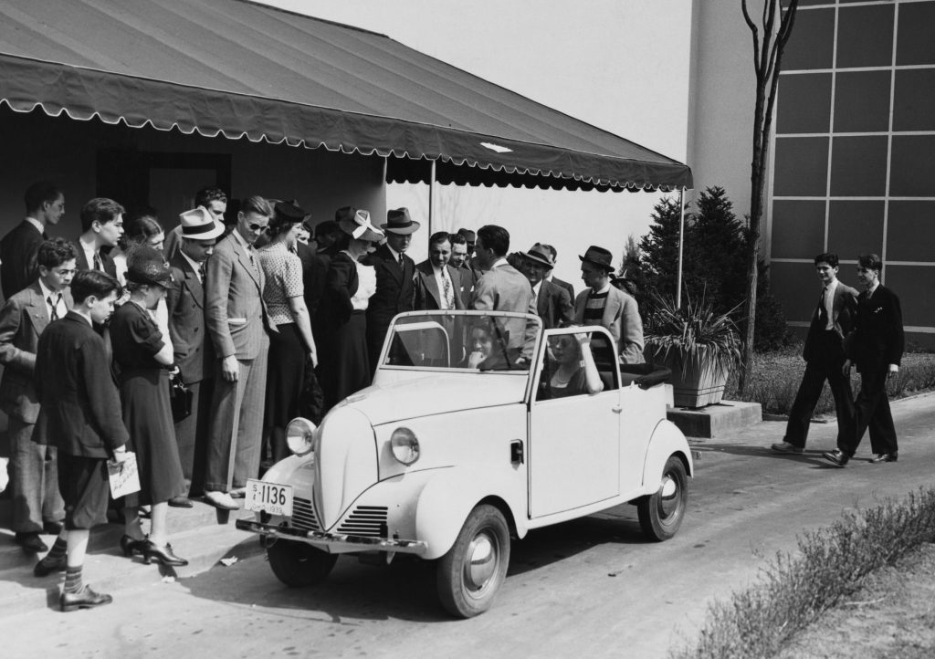 1939 New York World's Fair Crosley Car Debut