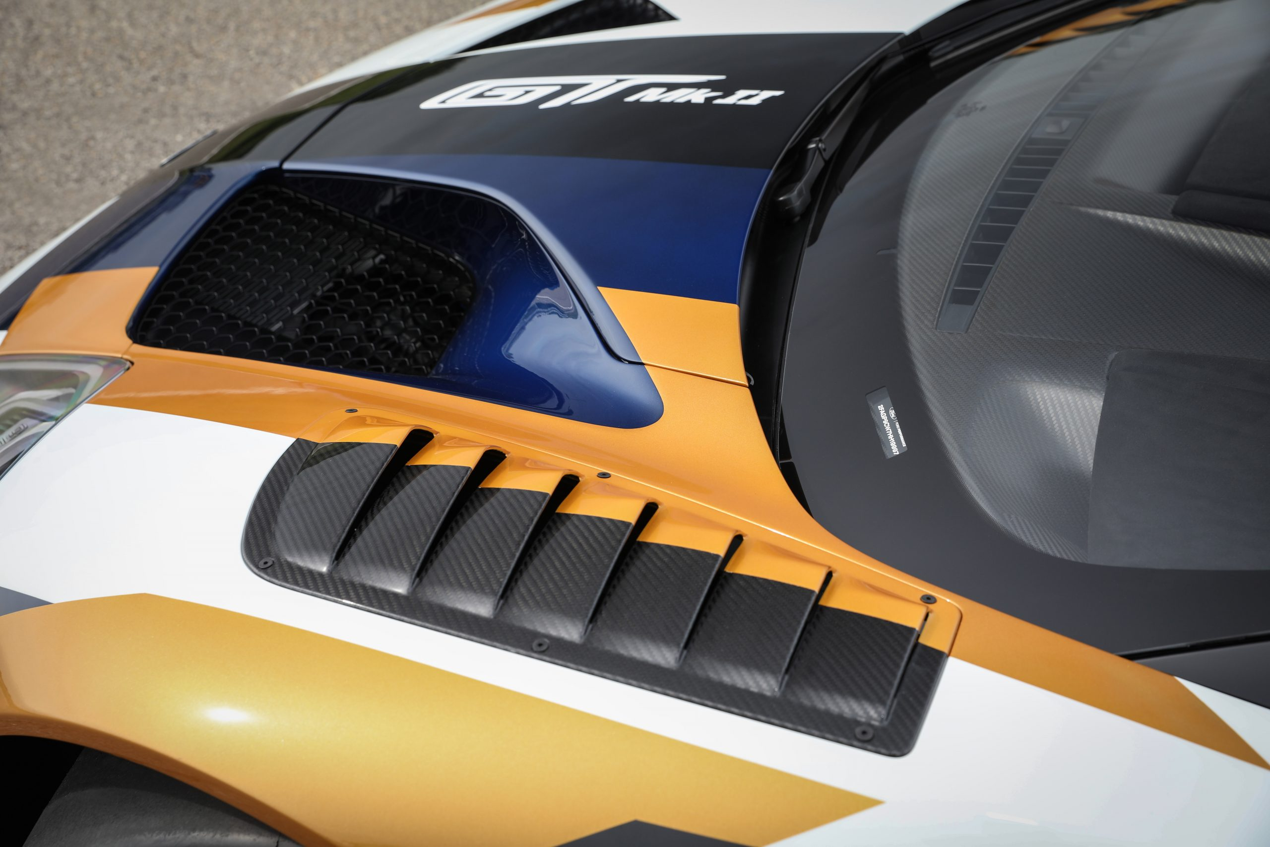 Ford GT Mk II Mk2 front aero hood