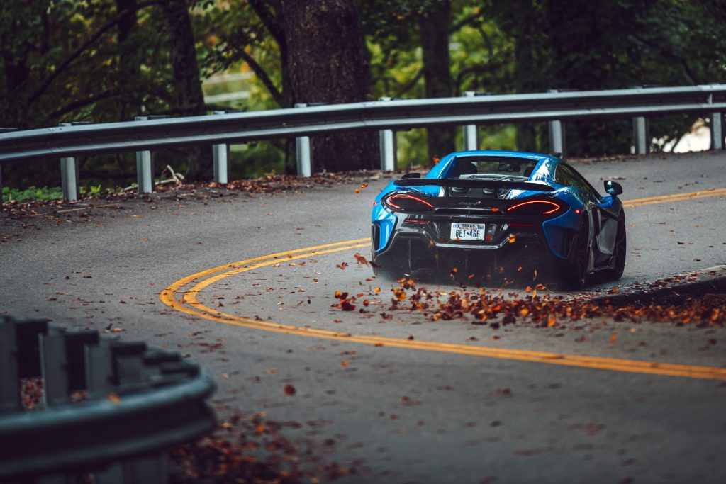 McLaren 675LT rear