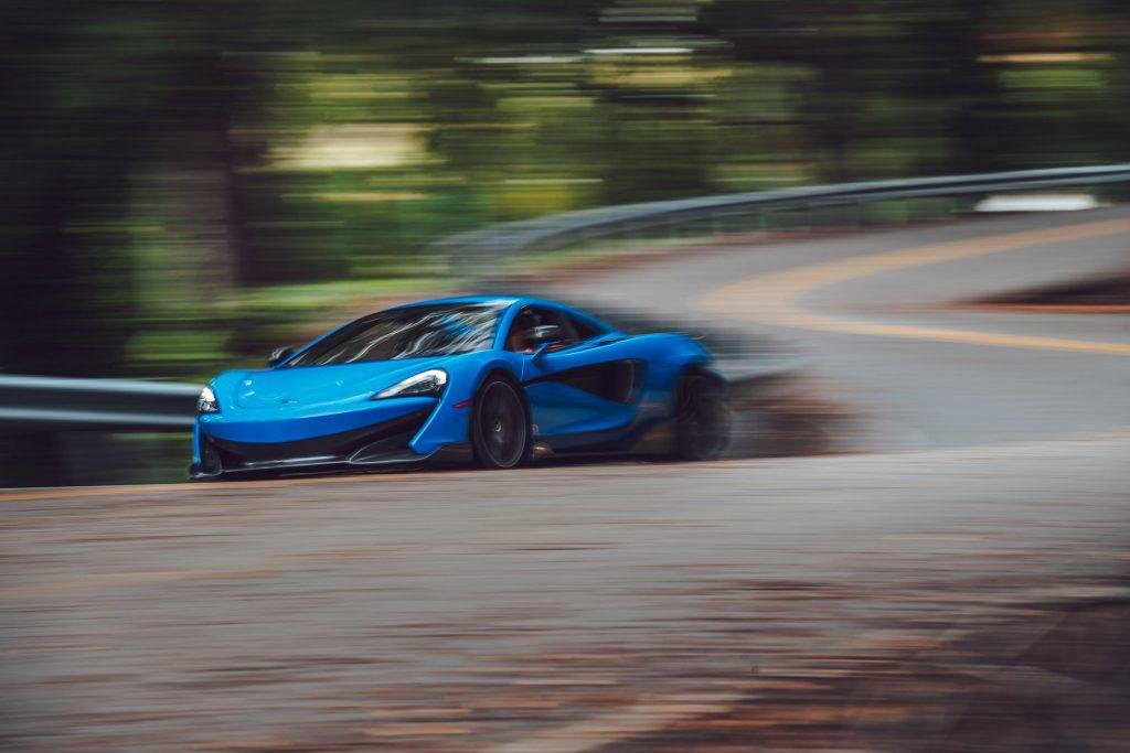 McLaren 675LT front dynamic action