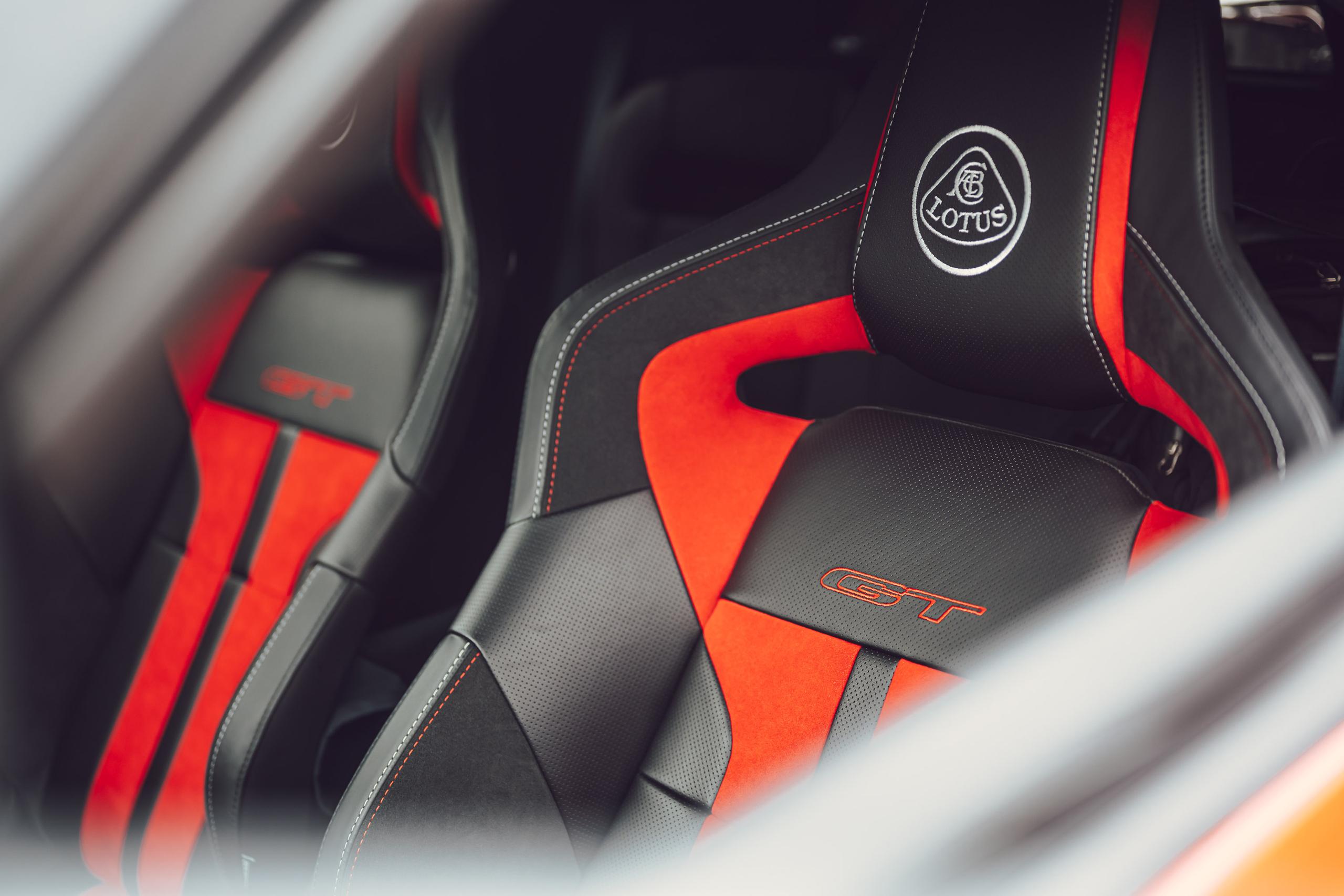 Lotus Evora GT seat headrest