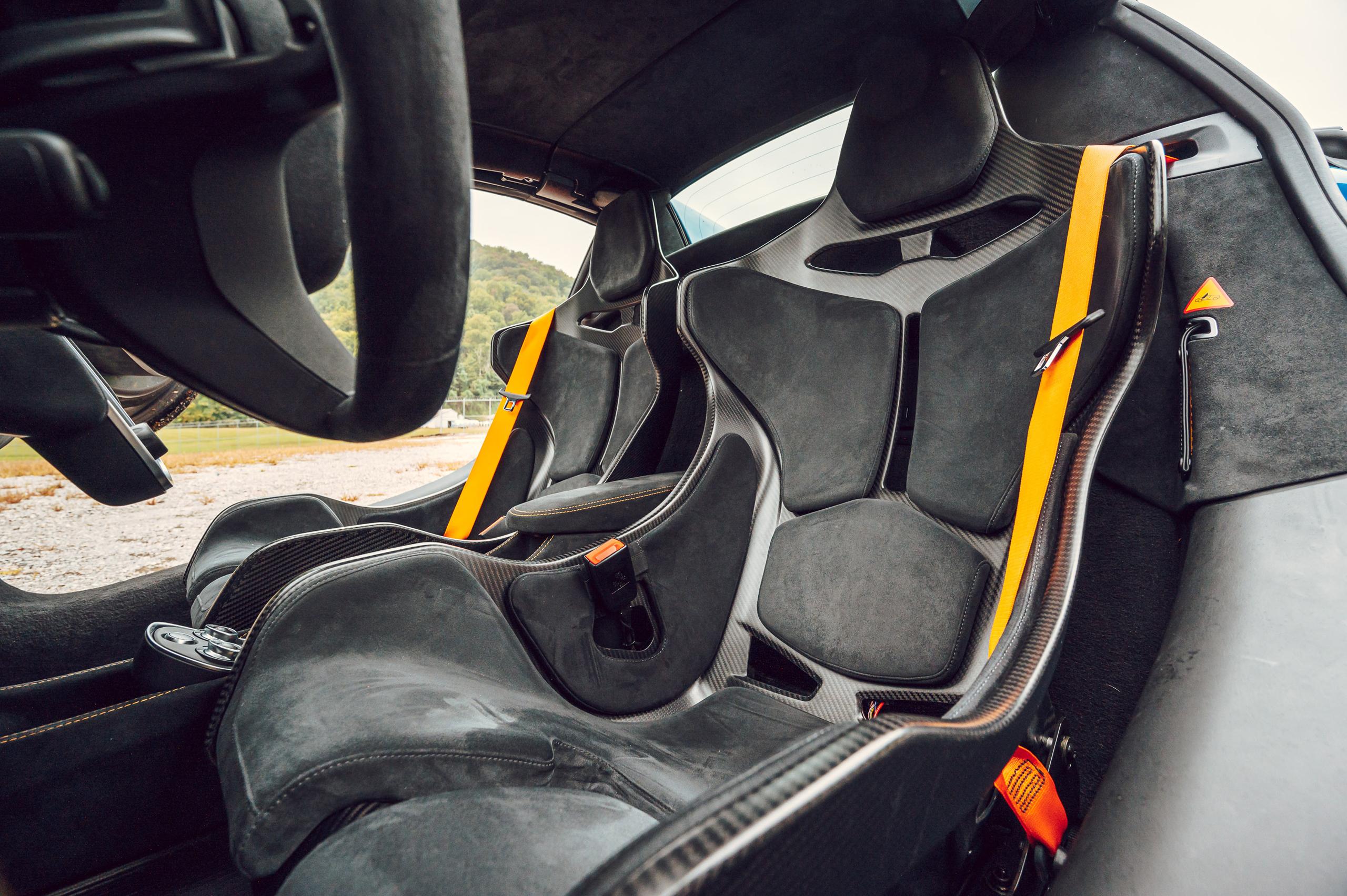 McLaren 675LT seats