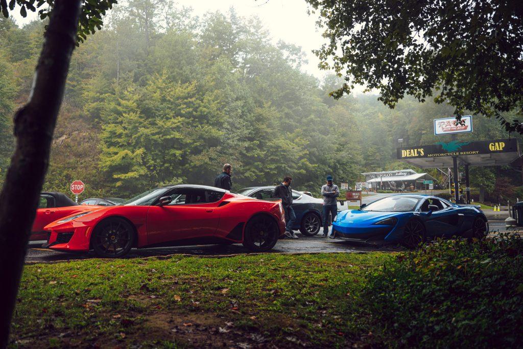 Lotus Evora GT and McLaren 675LT