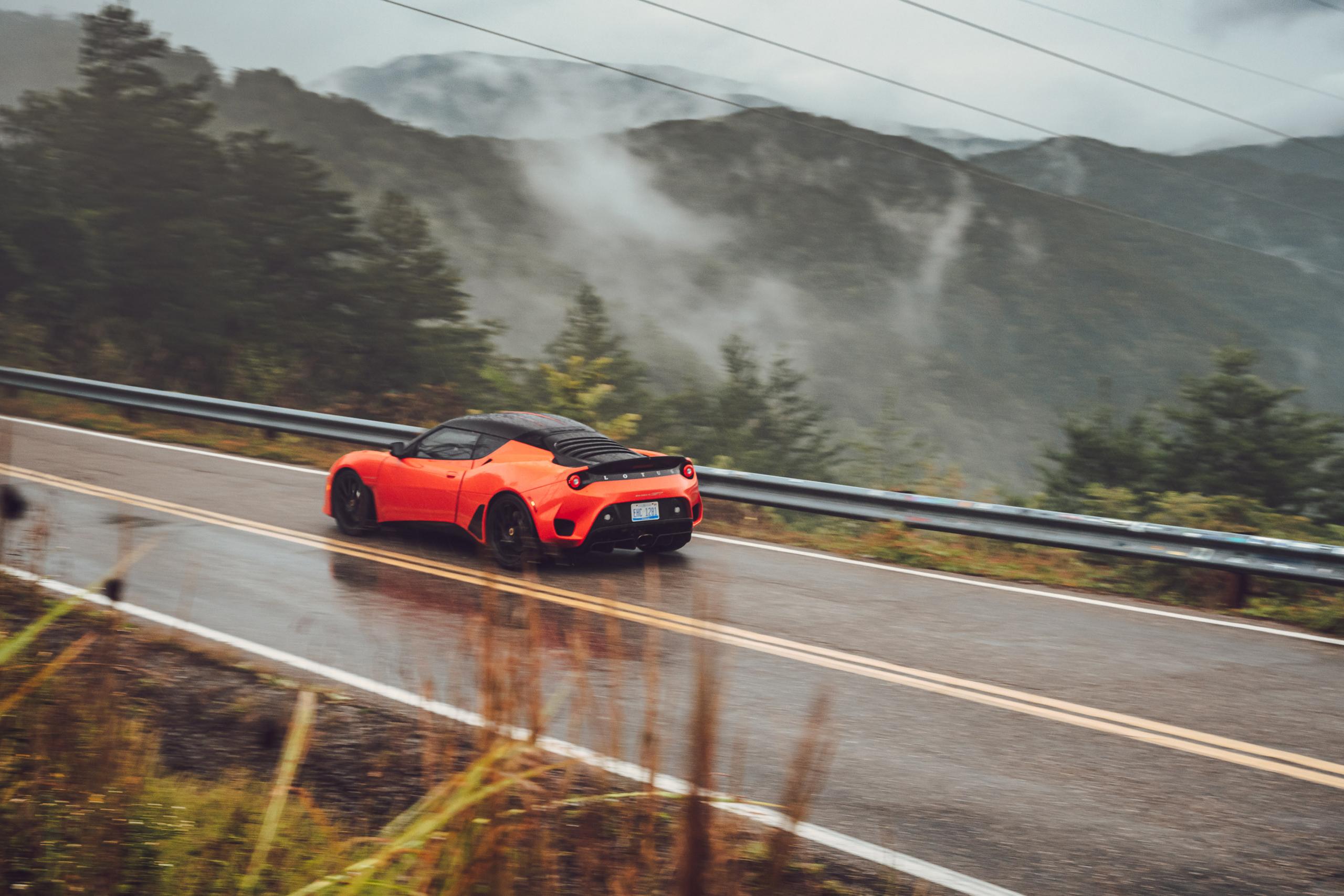 Lotus Evora GT rear