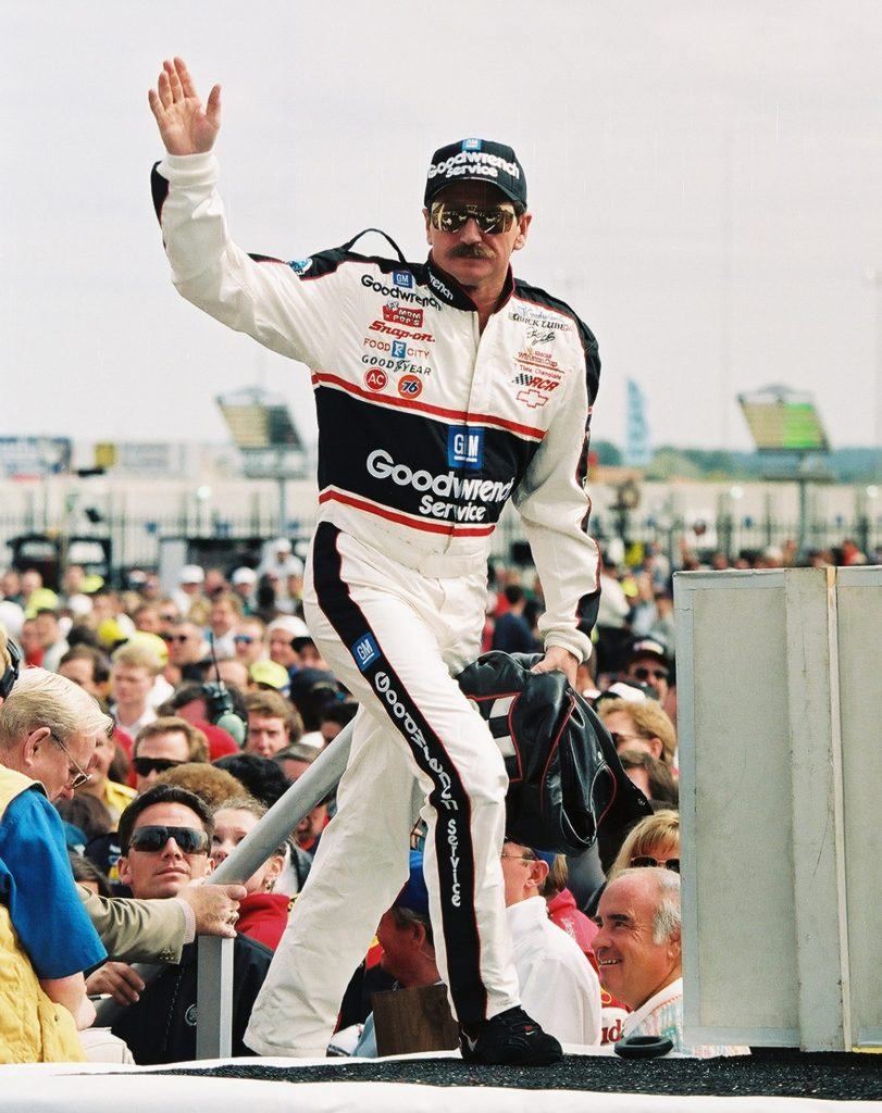 Dale Earnhardt At Driver Introductions