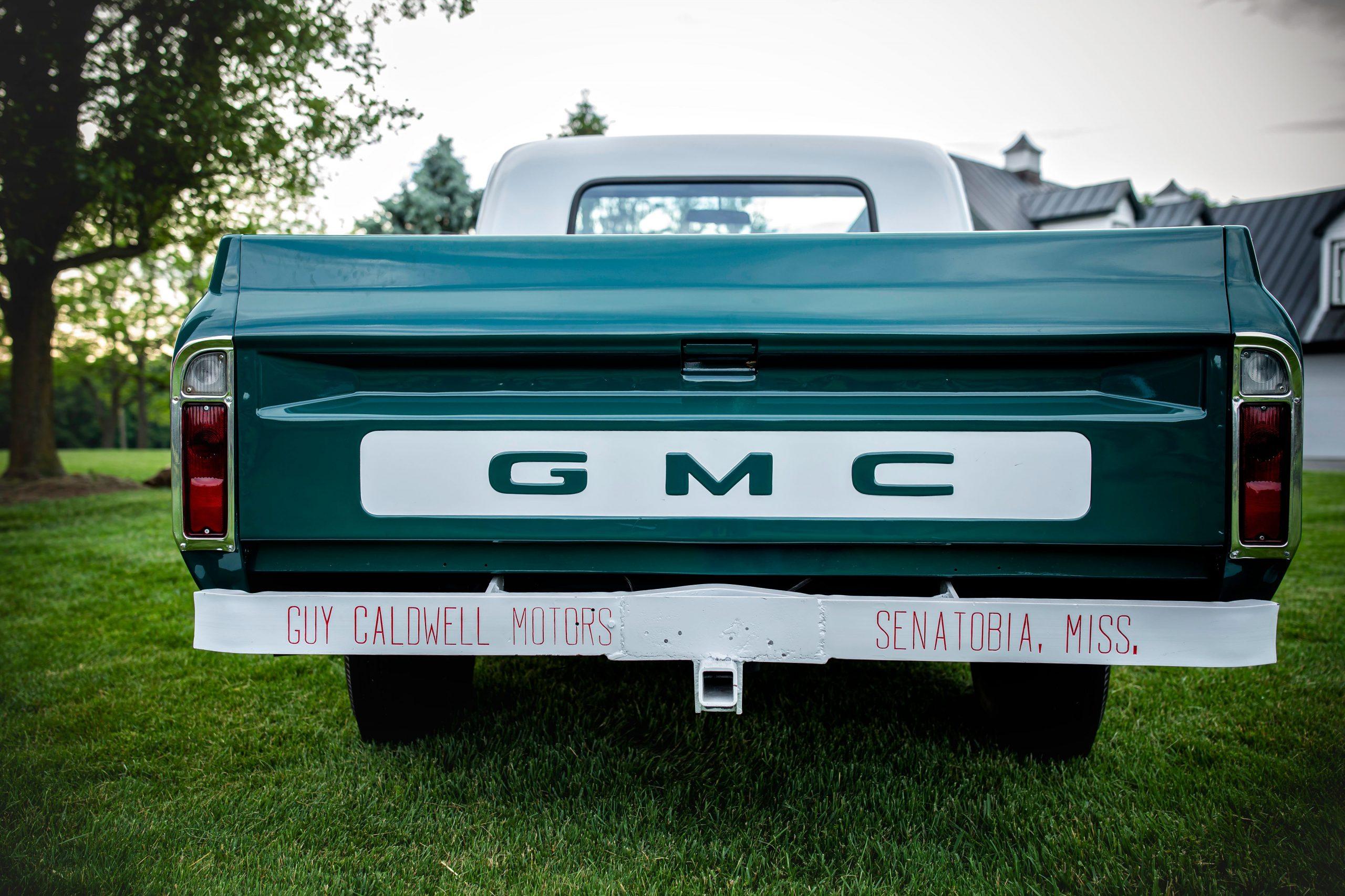 Elvis Presley Owned 1967 GMC Pickup rear