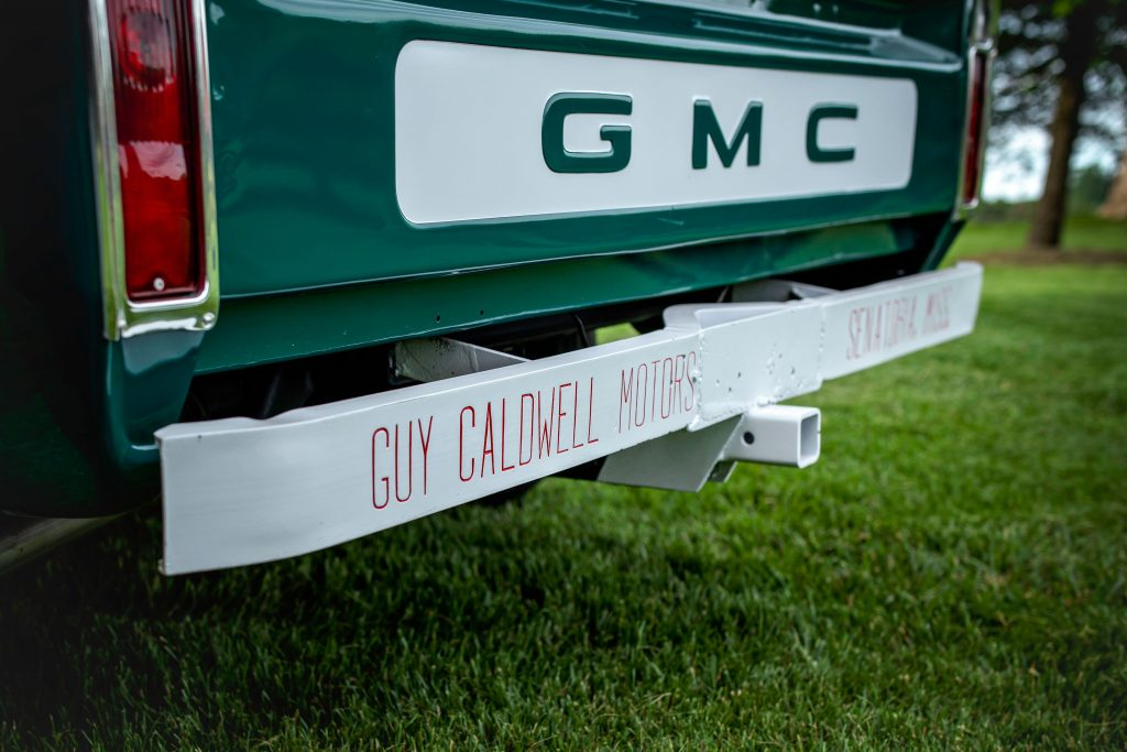Elvis Presley Owned 1967 GMC Pickup rear angle