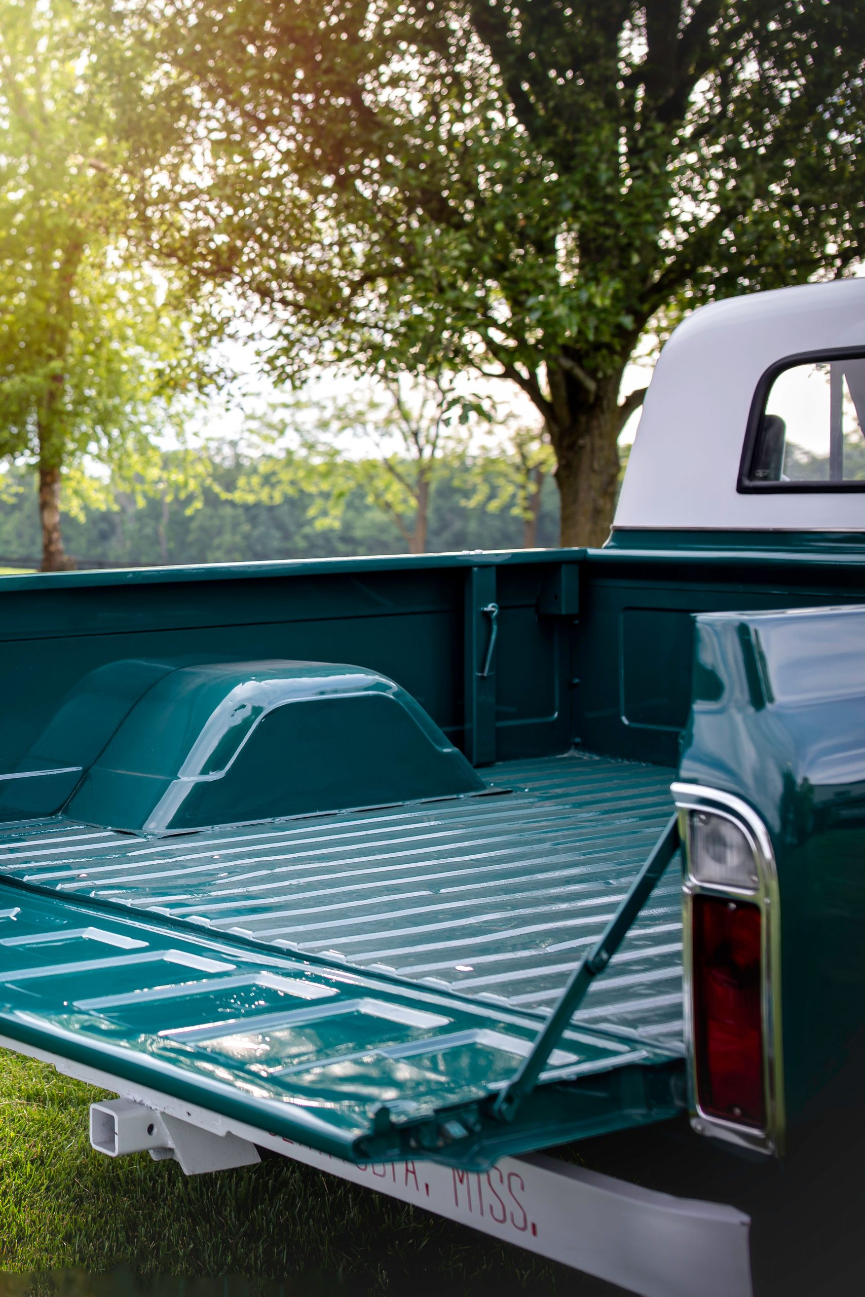 Elvis Presley Owned 1967 GMC Pickup truck bed
