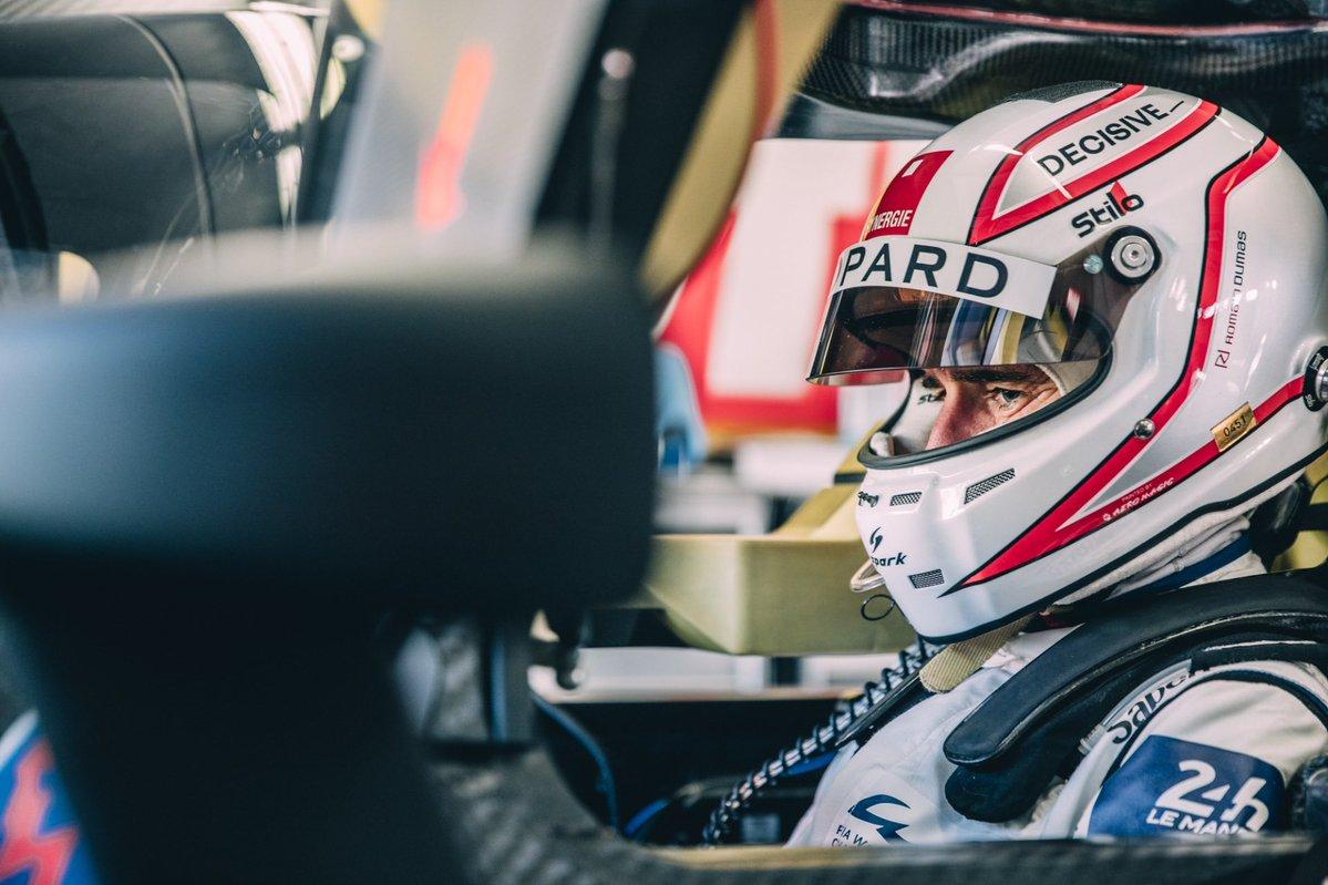 Glickenhaus 007 LMH Romain Dumas testing Vallelunga 2021
