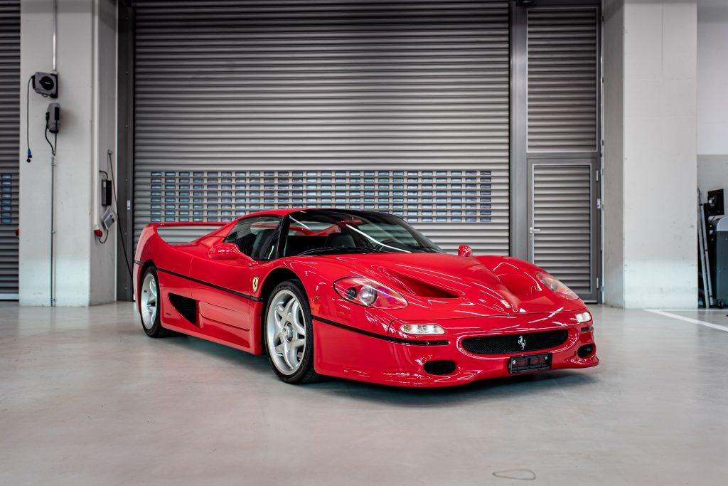 Vettel's Ferrari F50