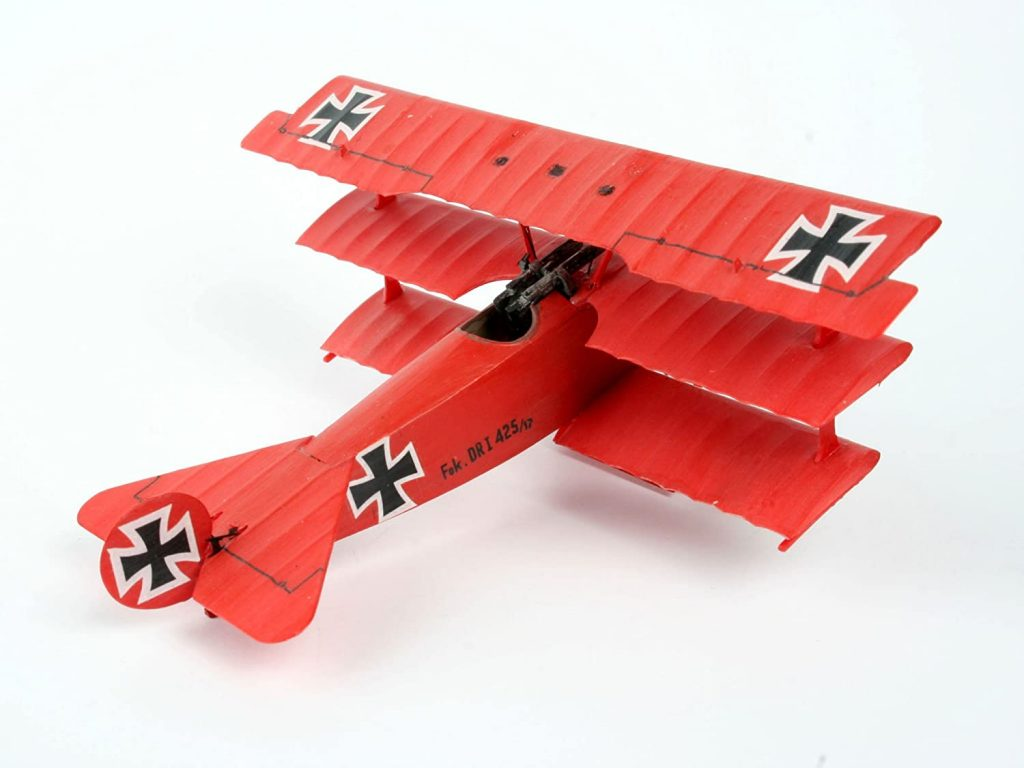 German Fokker Triplane Red Baron