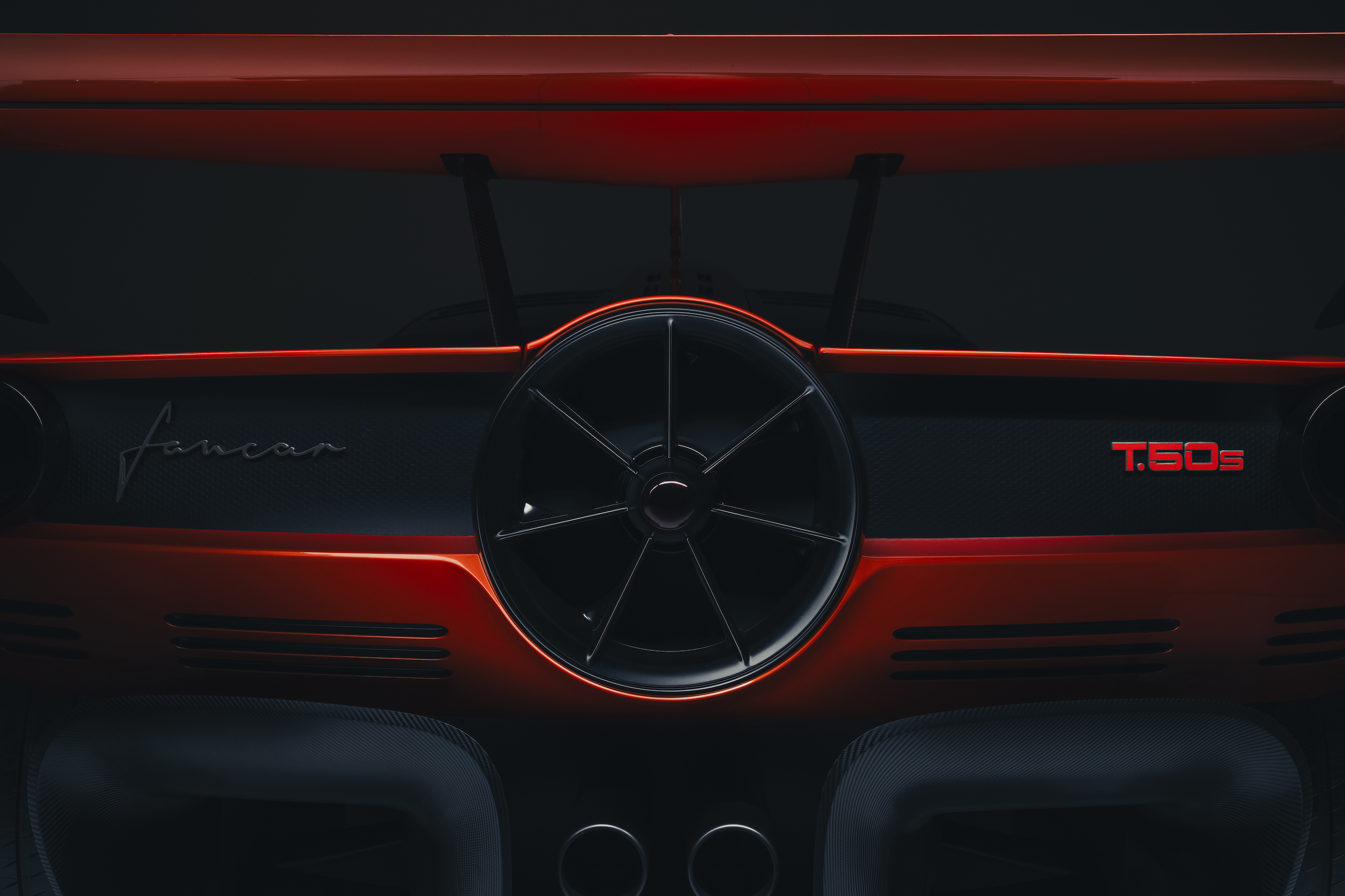 GMA T50s turbine rear detail