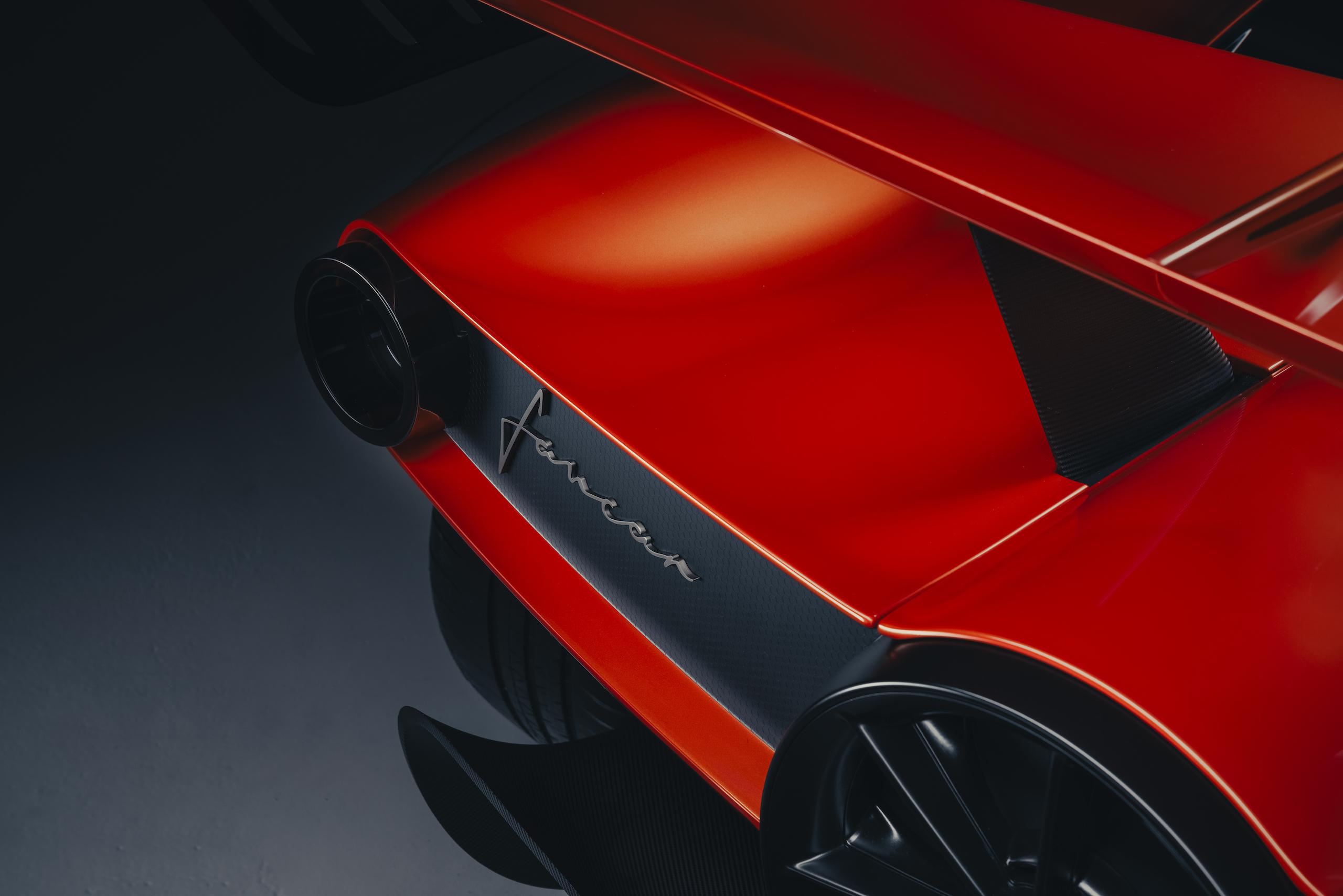 GMA T50s rear detail